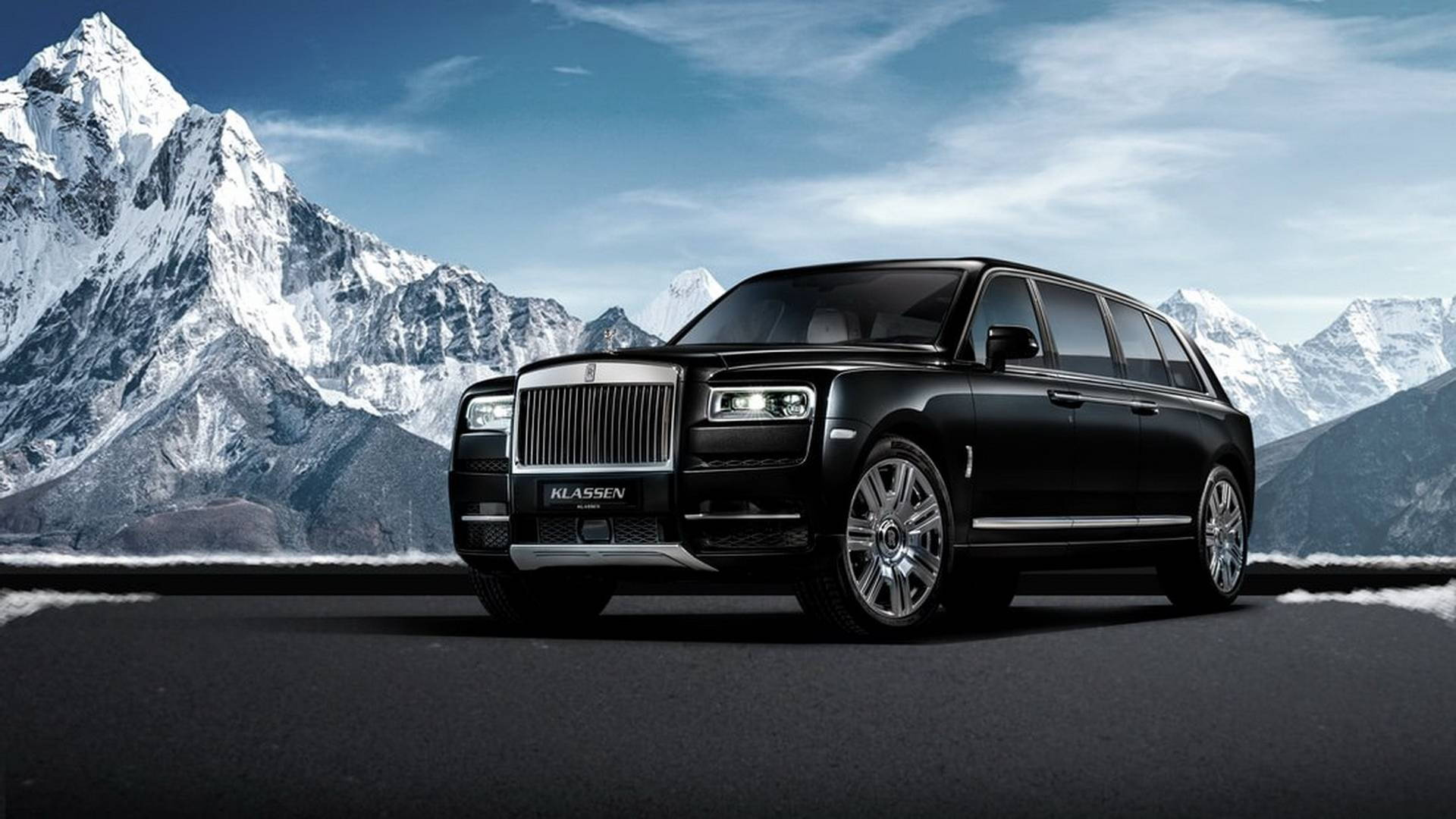 Rolls Royce Limo >> Get Ready For The Bulletproof 2m Rolls Royce Cullinan Limo