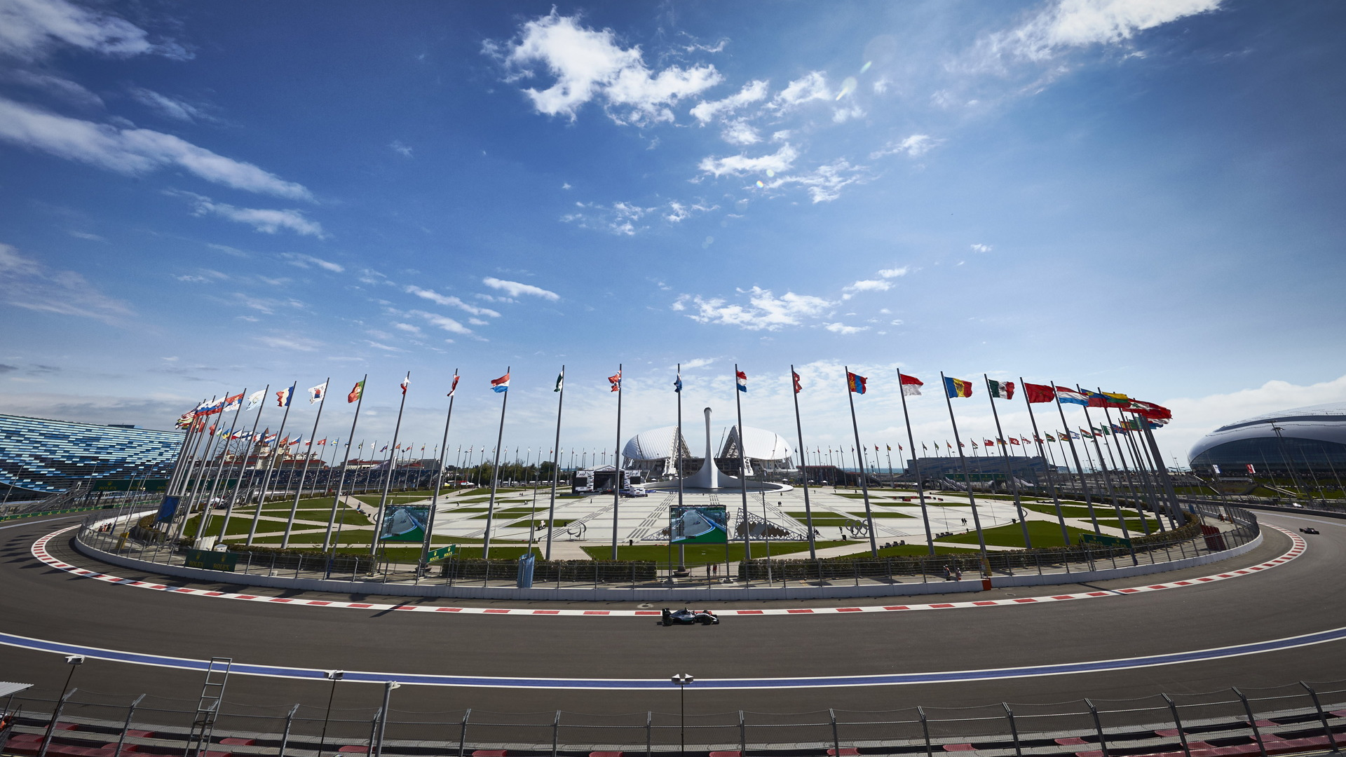 Sochi Autodrom, home of the Formula 1 Russian Grand Prix