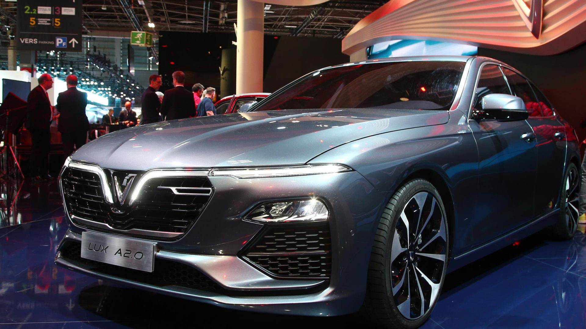 2019 Vinfast Lux A2.0, 2018 Paris auto show
