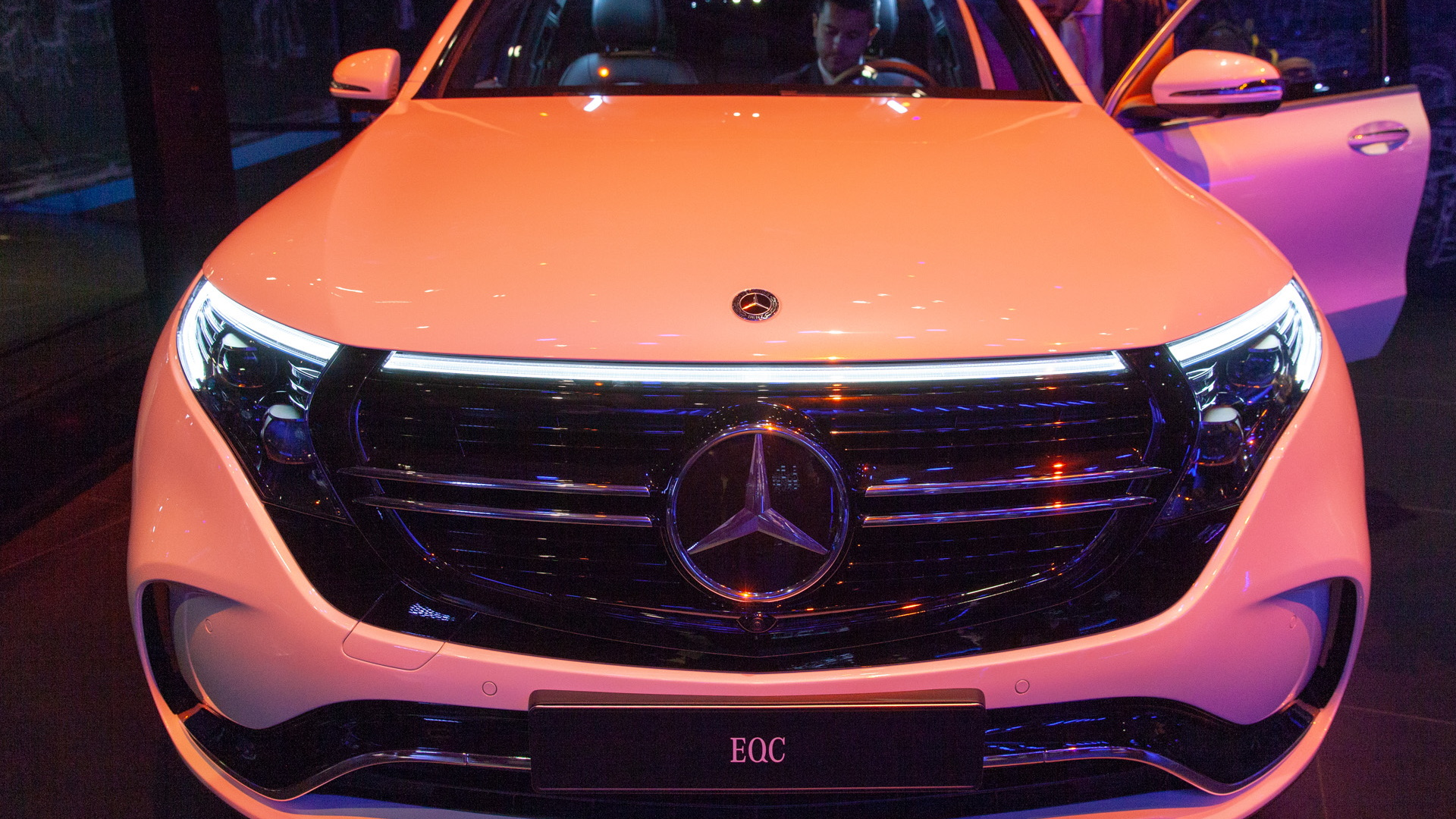 2020 Mercedes-Benz EQC, 2018 Paris auto show
