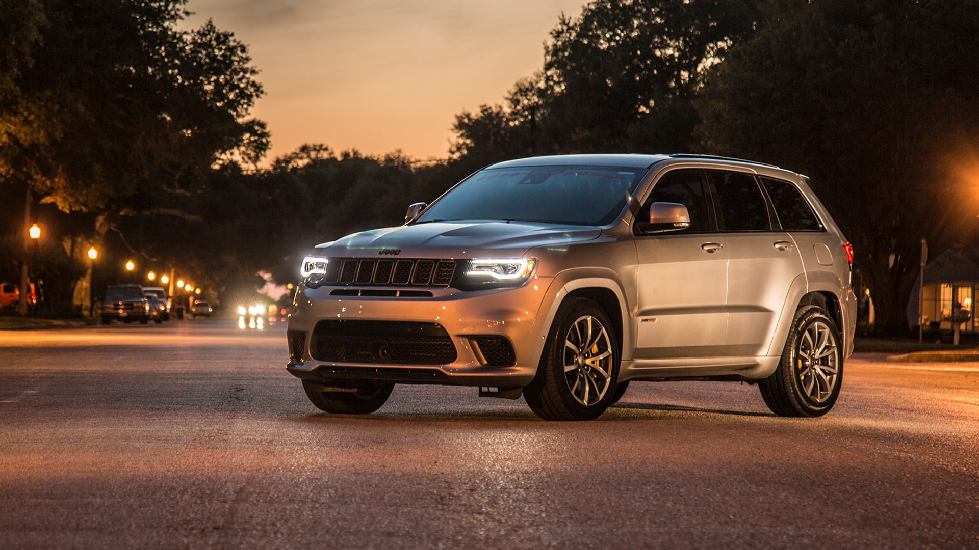 Meet the world's fastest SUV: Hennessey HPE1200 Jeep Grand