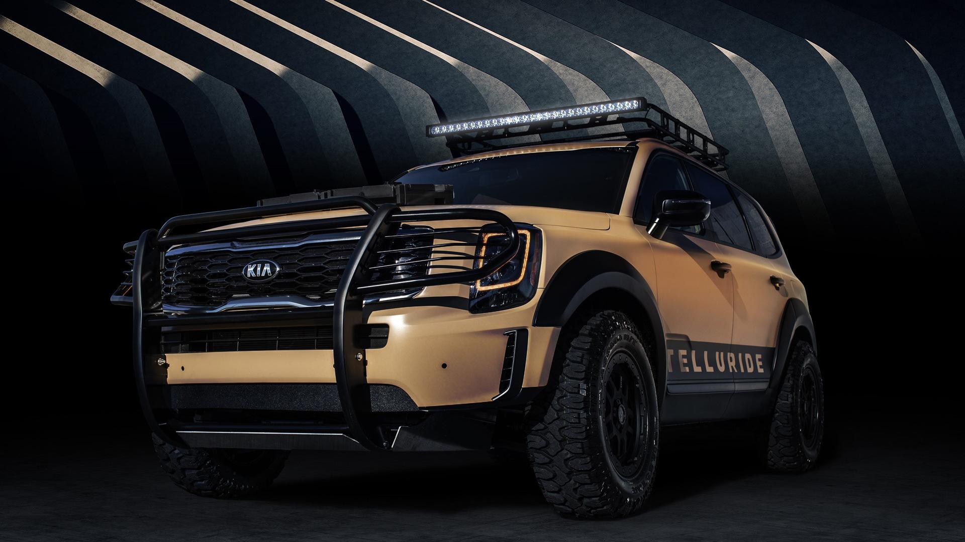 2020 Kia Telluride Desert Drifter