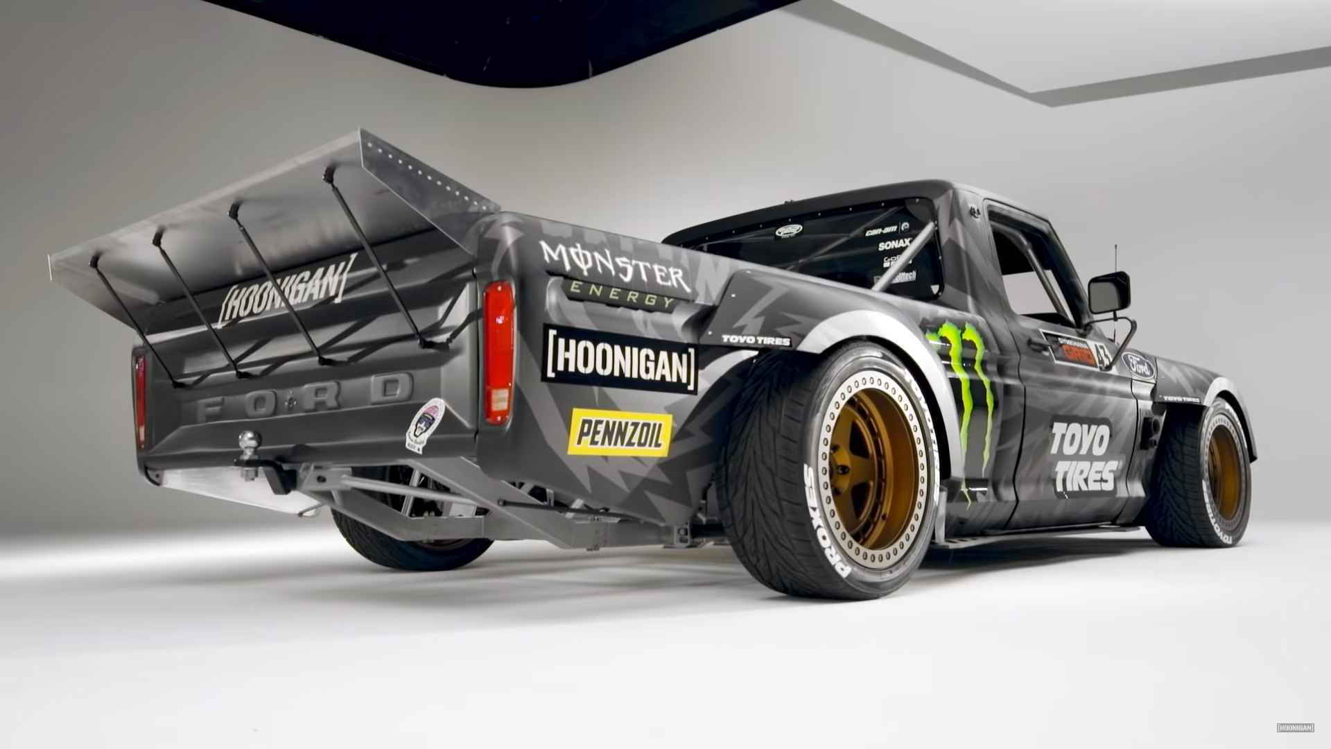 Ken Block now has a 1977 Ford F-150 Hoonitruck with 914