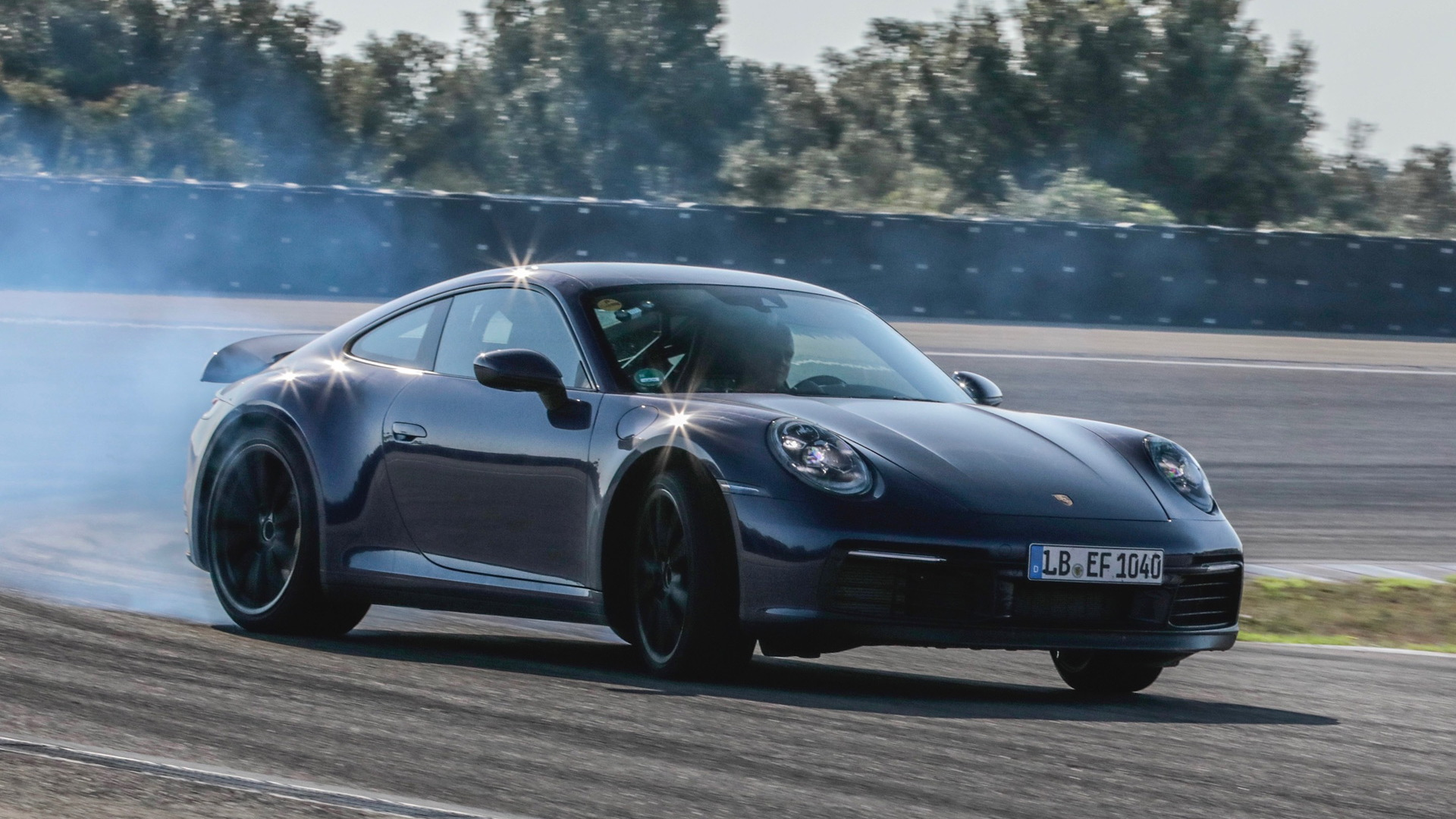 2020 Porsche 911 development drives