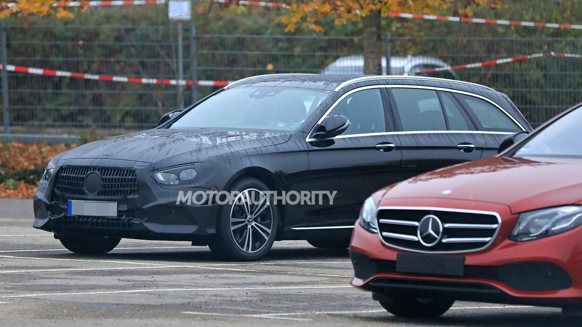 2021 Mercedes-Benz E-Class Wagon facelift spy shots - Image via S. Baldauf/SB-Medien
