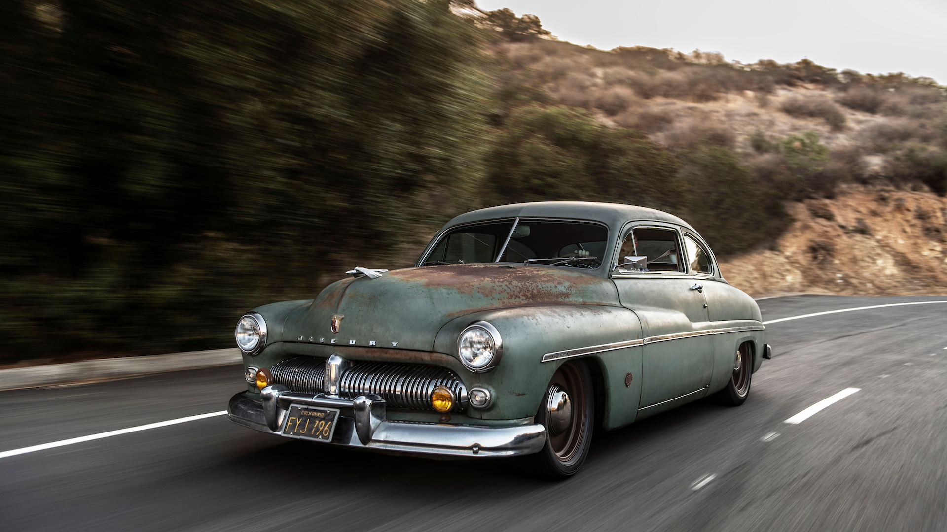 Icon's 1949 Mercury Derelict EV coupe