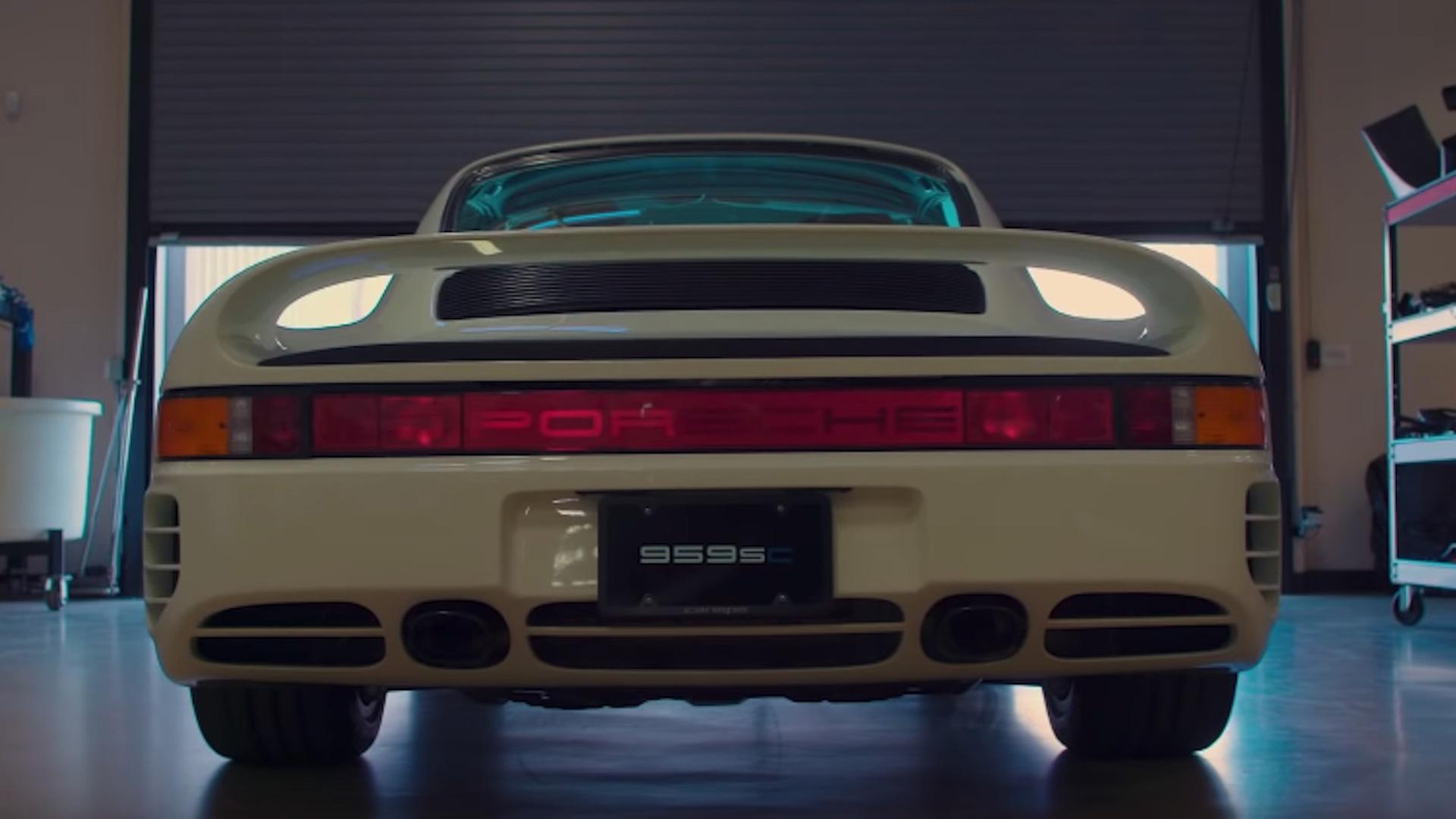 Bruce Canepa's Porsche 959