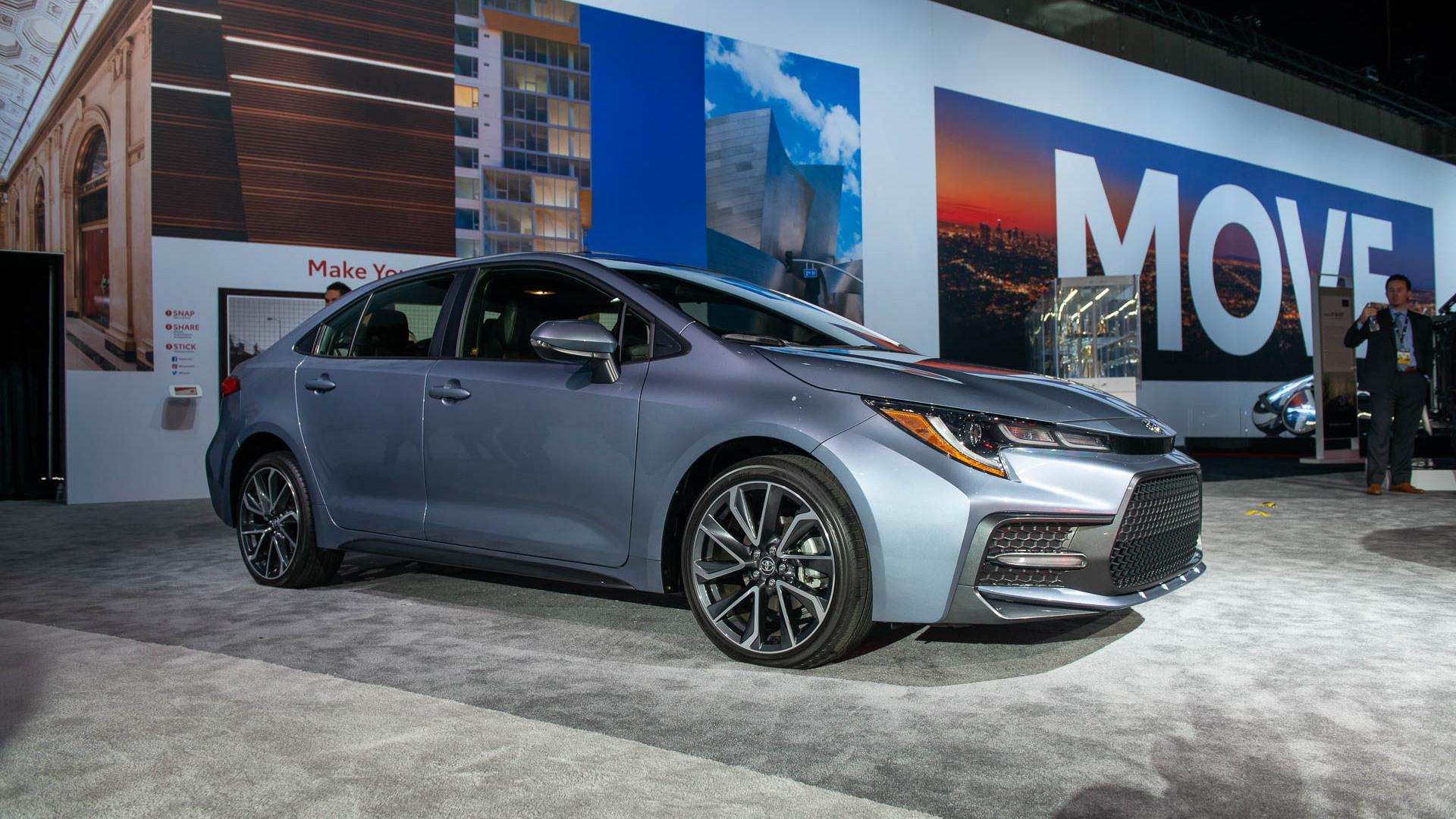 2020 Toyota Corolla, 2018 LA Auto Show