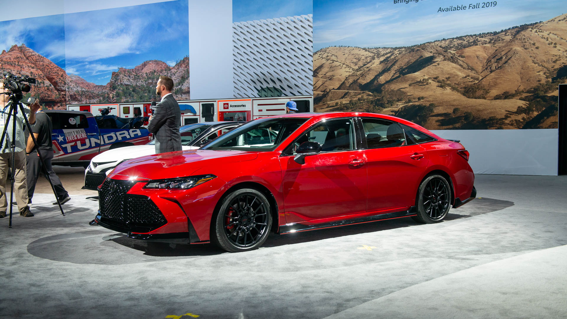2020 Toyota Avalon TRD, 2018 LA Auto Show