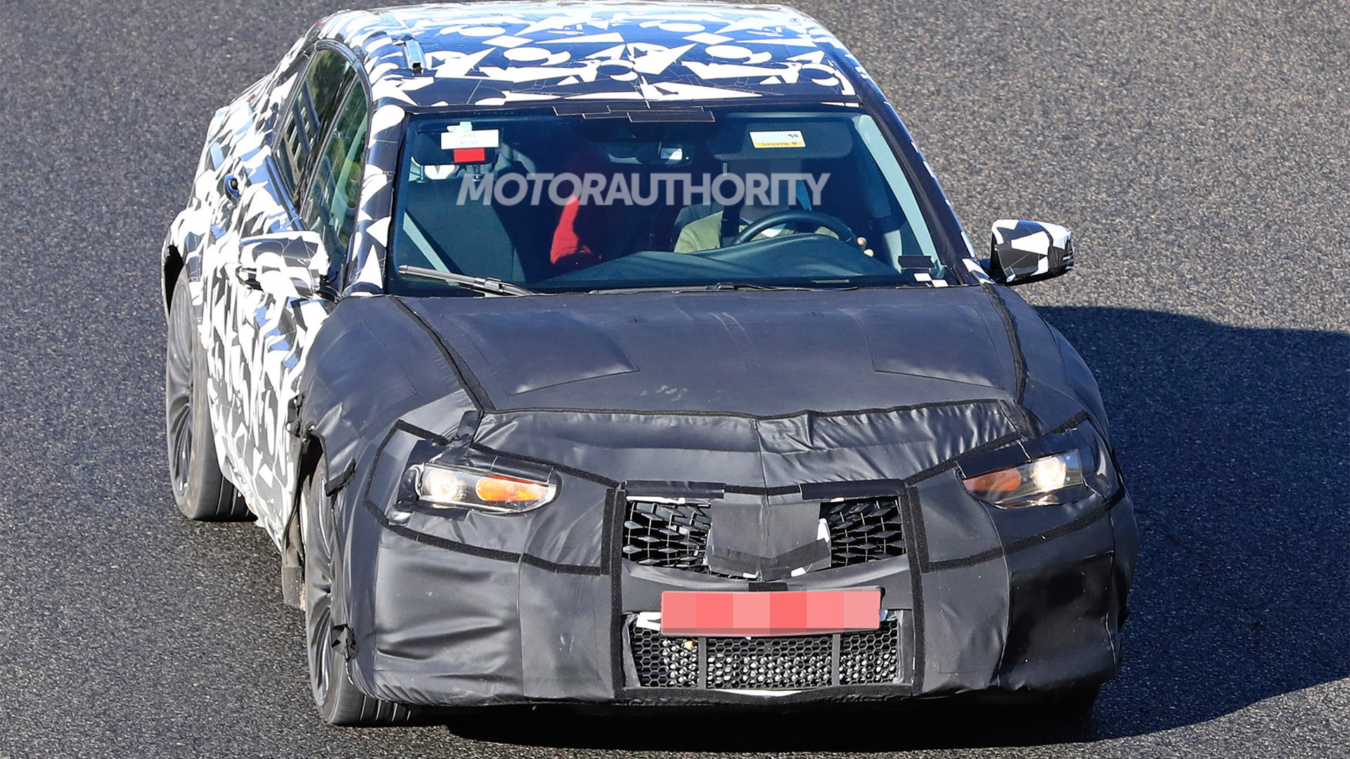 2021 Acura TLX Type S test mule spy shots - Photo credit: S. Baldauf/SB-Medien