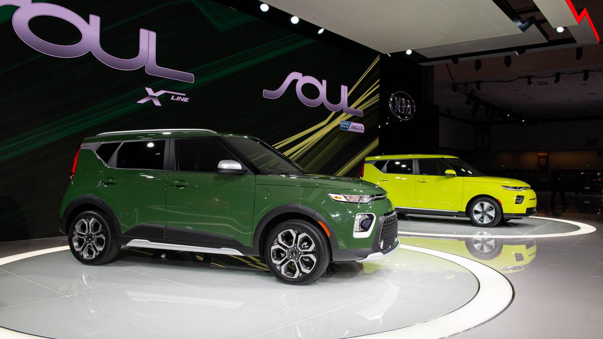 2020 Kia Soul, 2018 LA Auto Show
