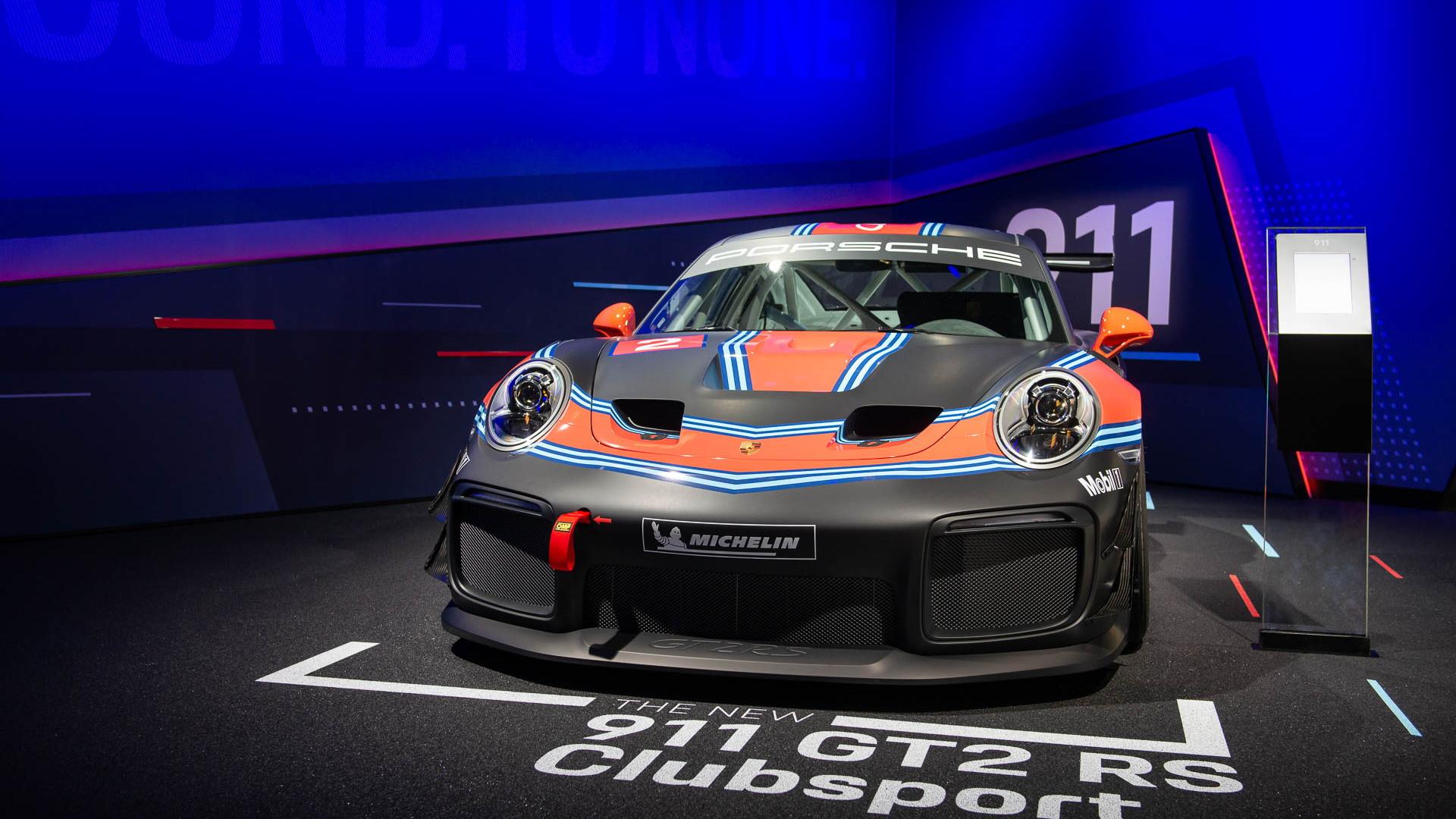 Porsche 911 GT2 RS Clubsport, 2018 LA Auto Show
