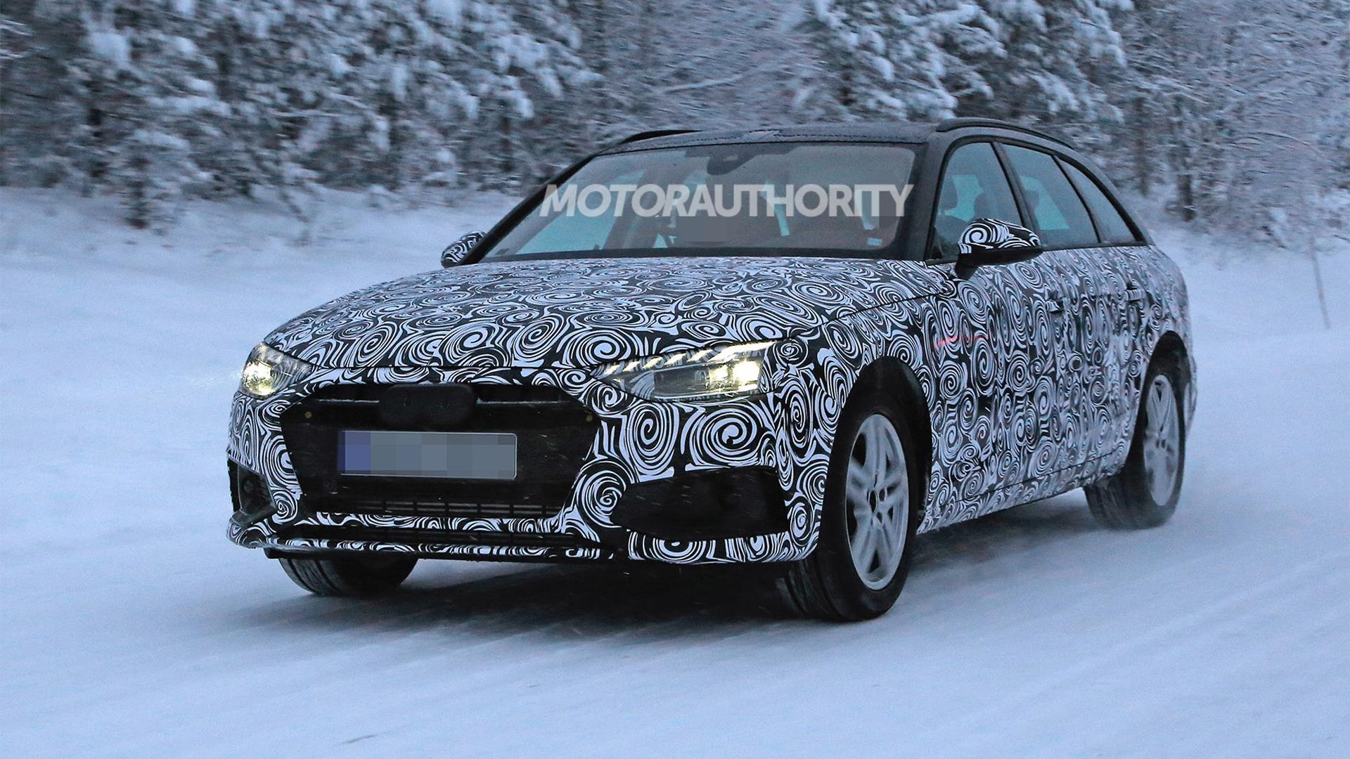 Release Date Audi Facelift A4 2021