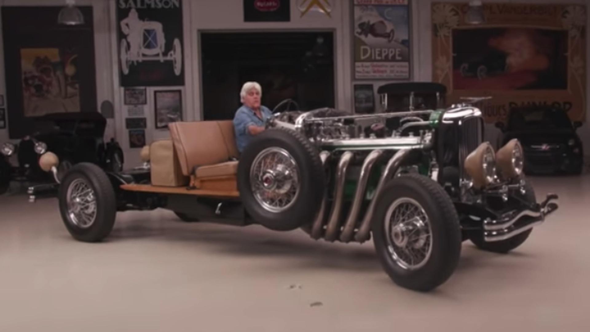 Jay Leno's 1931 Duesenberg Model J chasis