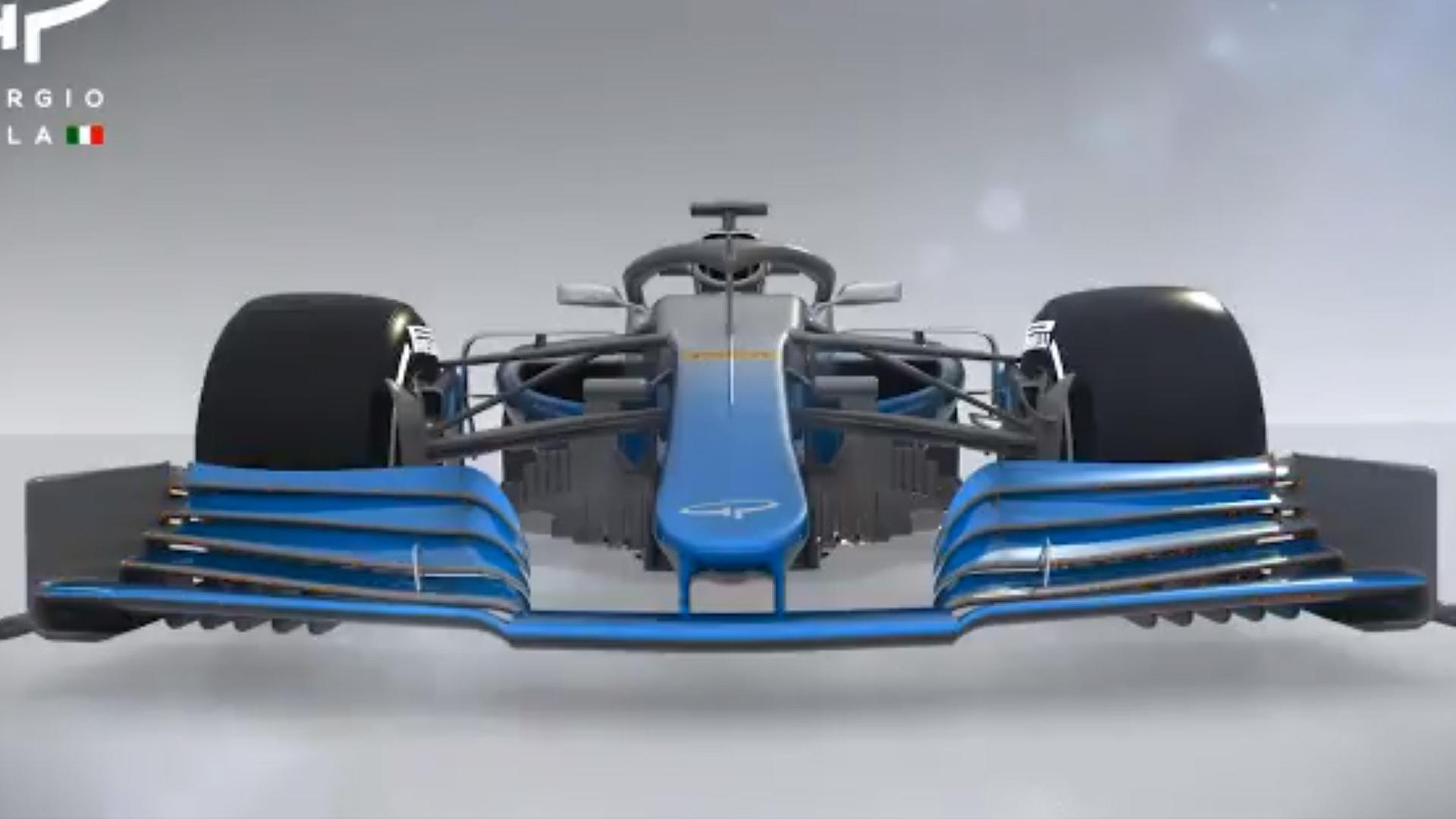 2019 Formula 1 car design
