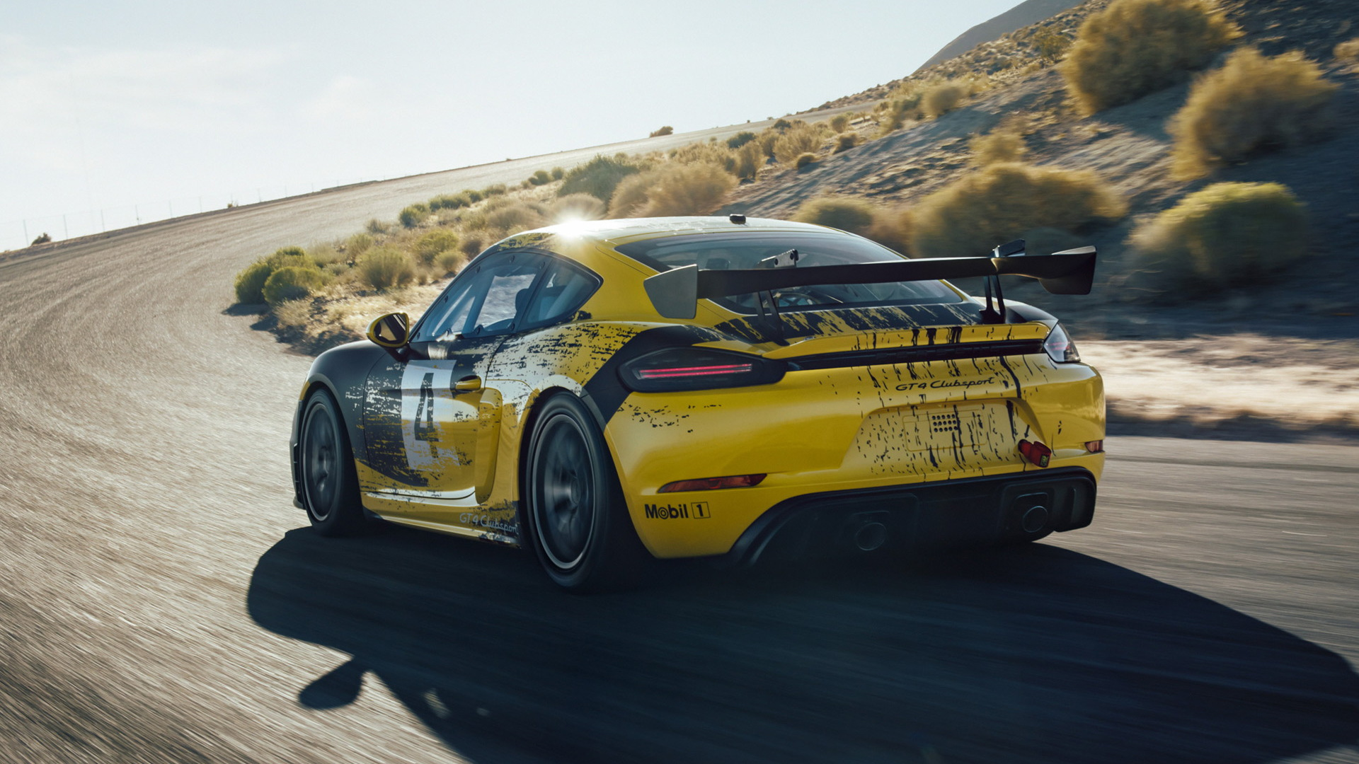 2019 Porsche 718 Cayman GT4 Clubsport race car