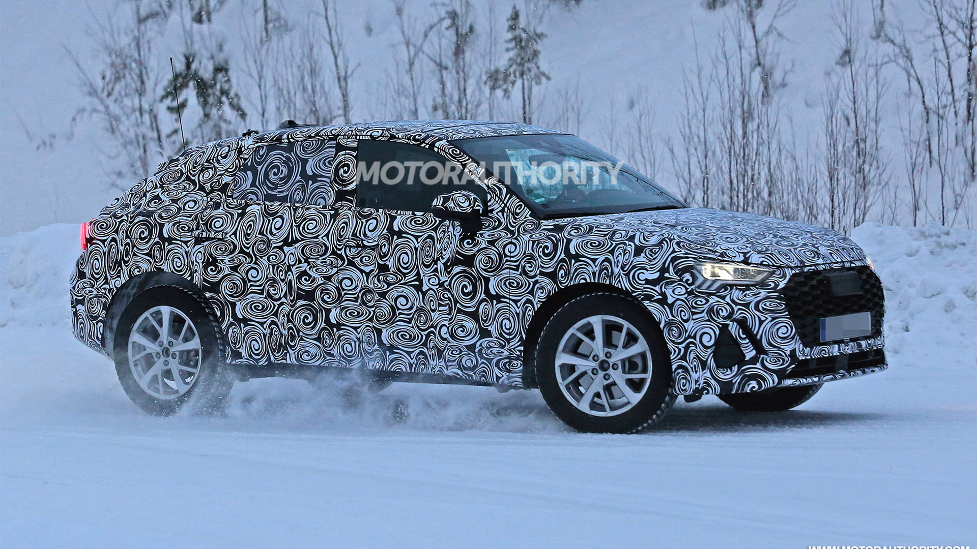 2021 Audi Q4 spy shots - Image via S. Baldauf/SB-Medien