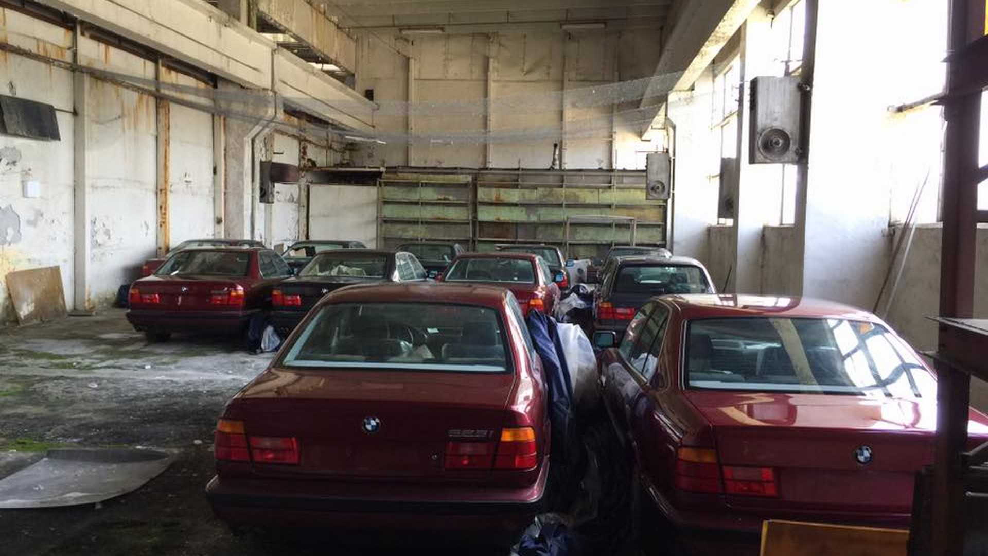 BMW 5-Series found abandoned in Bulgaria