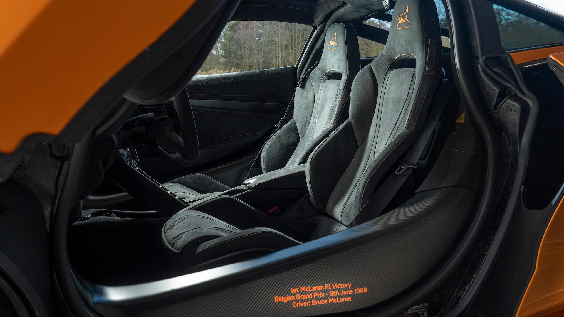 McLaren 720S Spa 68 special edition
