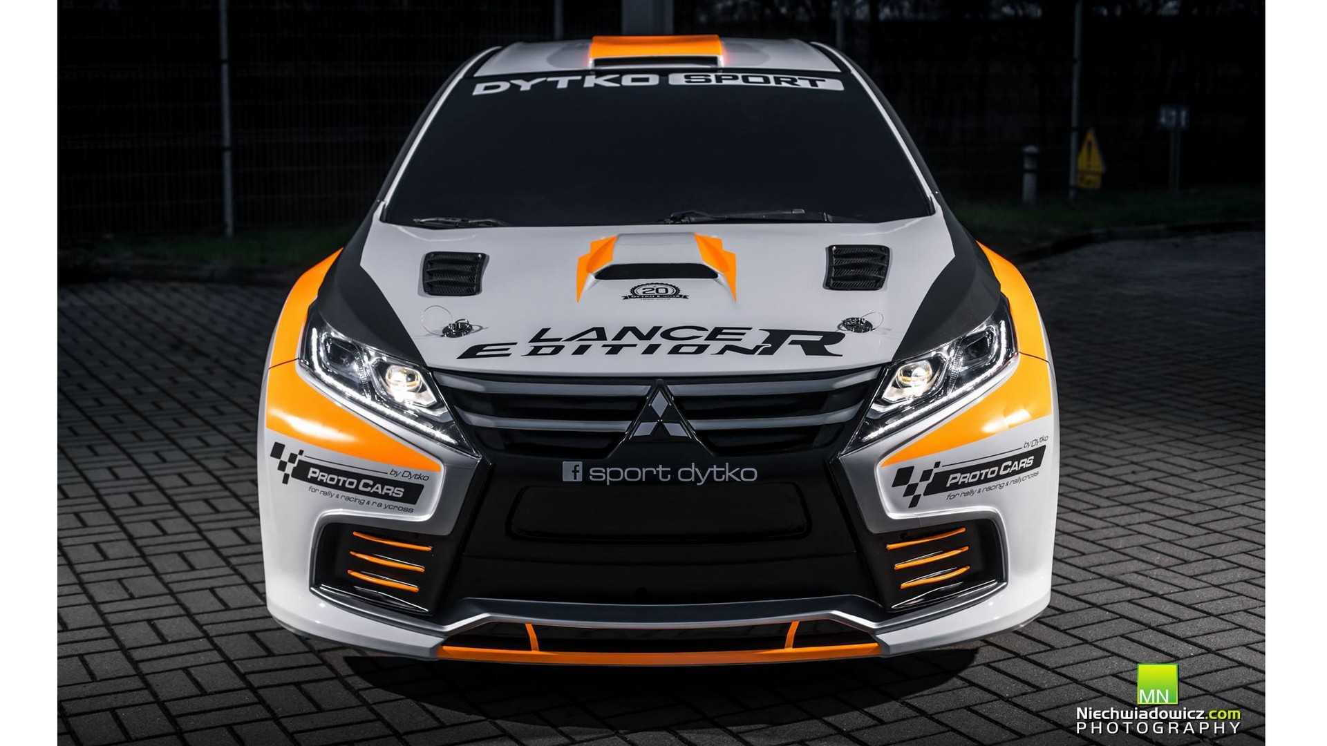 Polish firm builds convincing Evo XI body kit