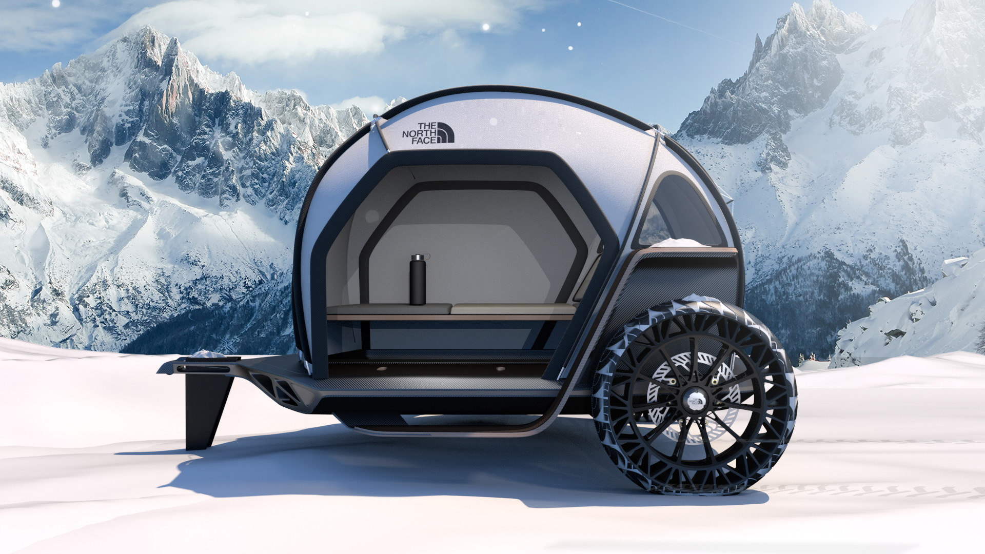 BMW and The North Face Futurelight Camper concept