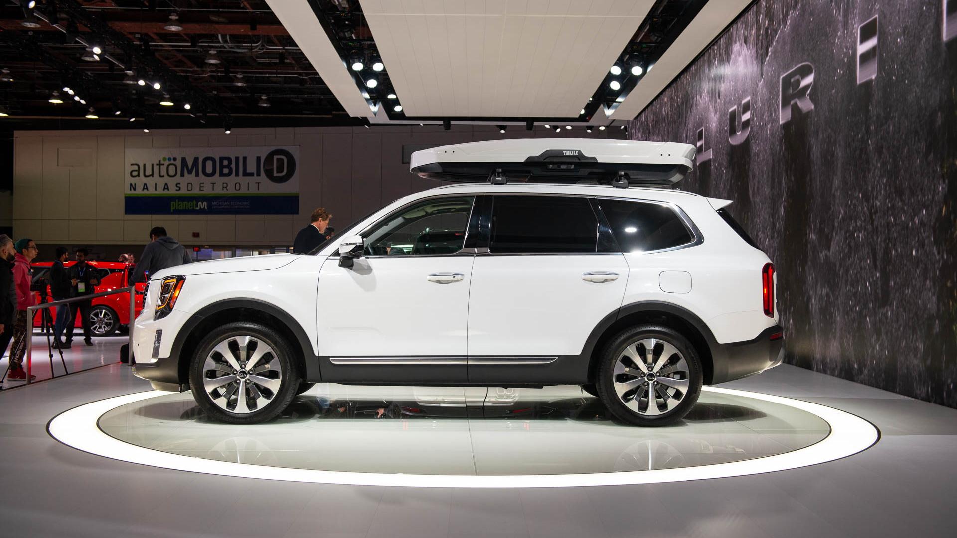 2020 Kia Telluride, 2019 Detroit auto show