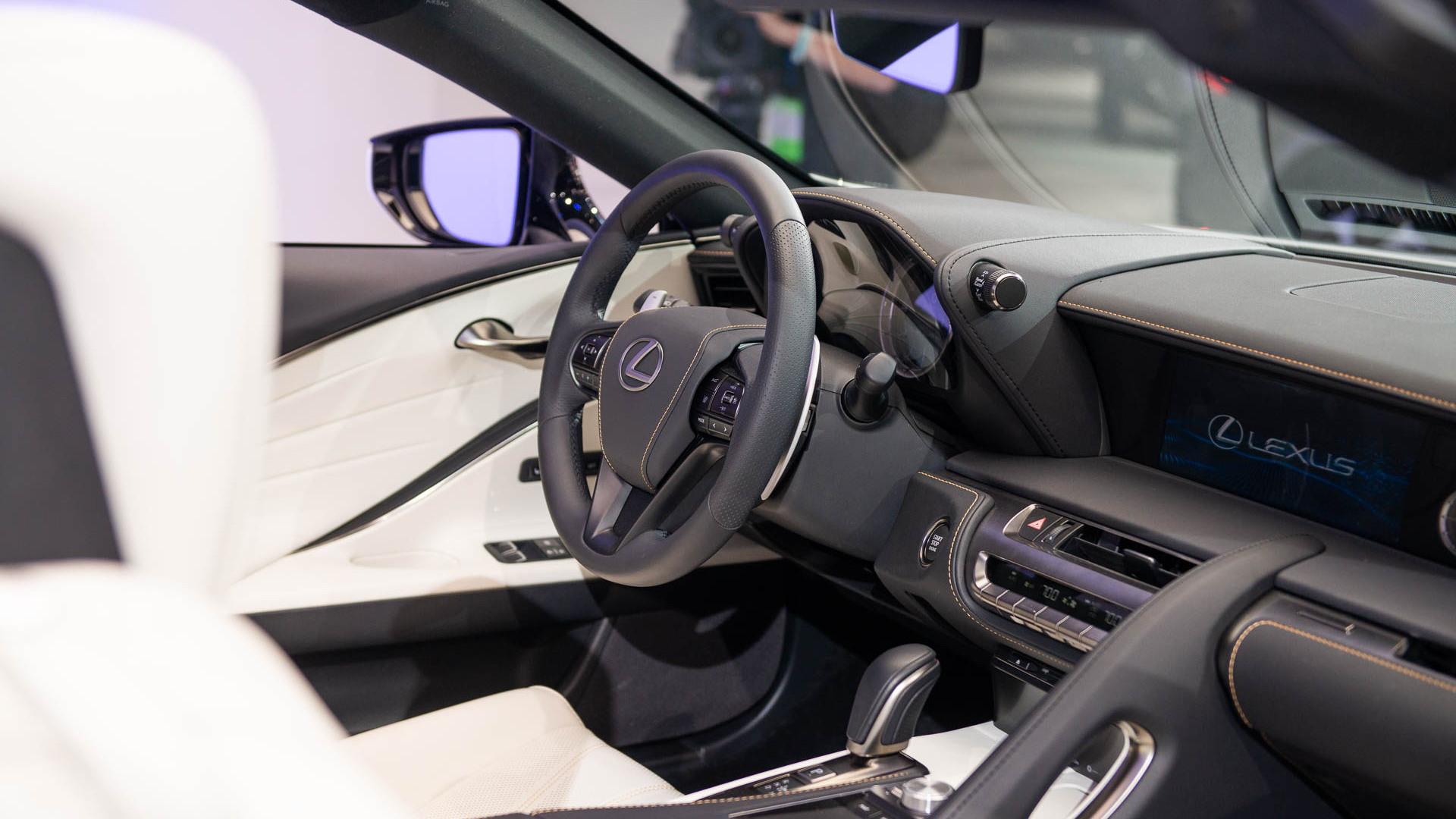 Lexus LC Convertible Concept, 2019 Detroit auto show