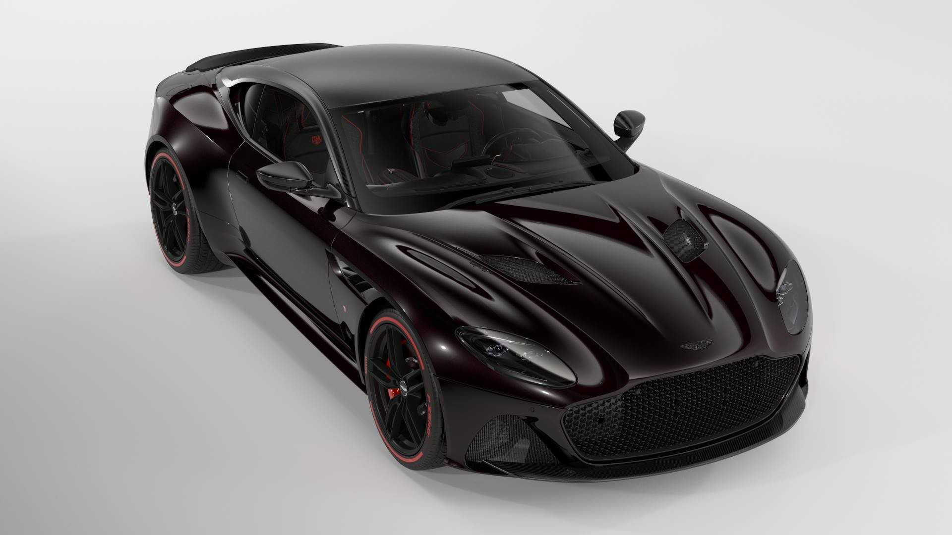 2019 Aston Martin DBS Superleggera Tag Heuer Edition