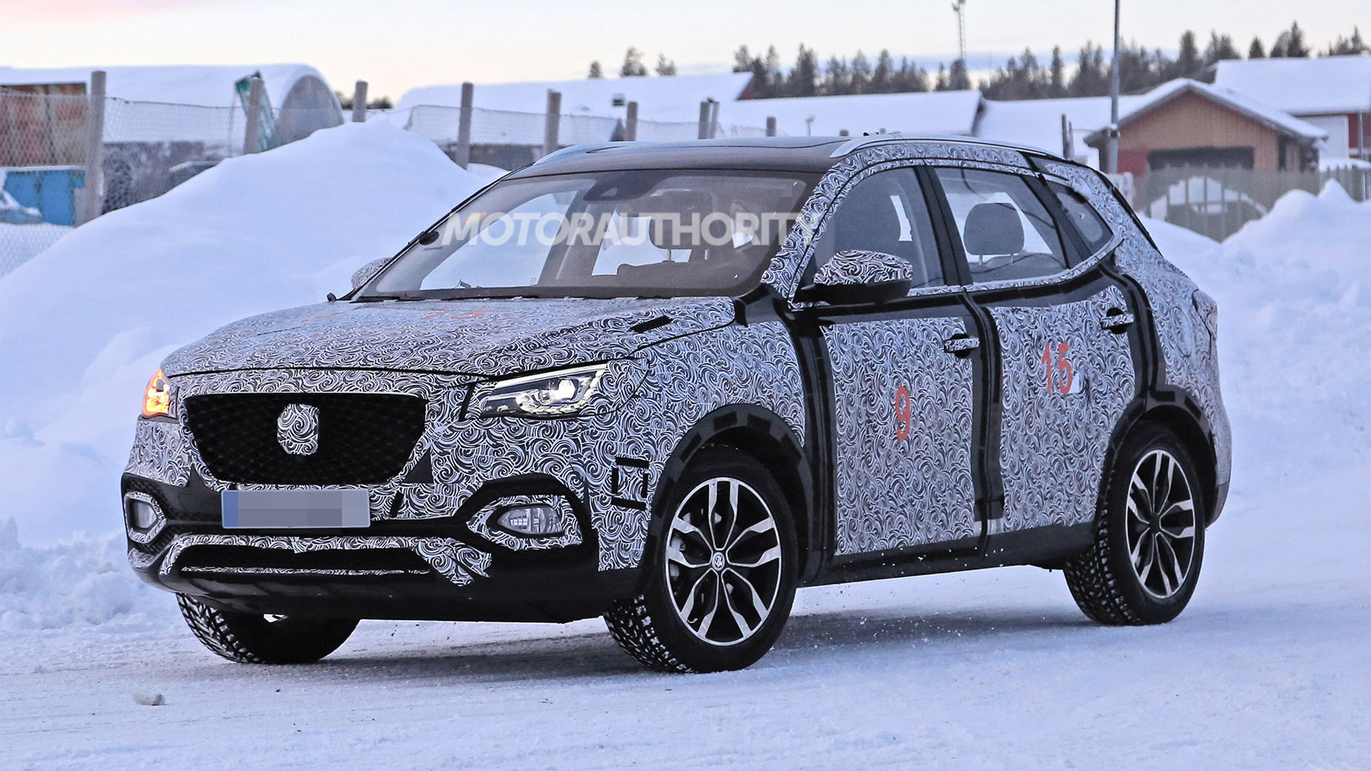 2020 MG X-Motion spy shots - Image via S. Baldauf/SB-Medien