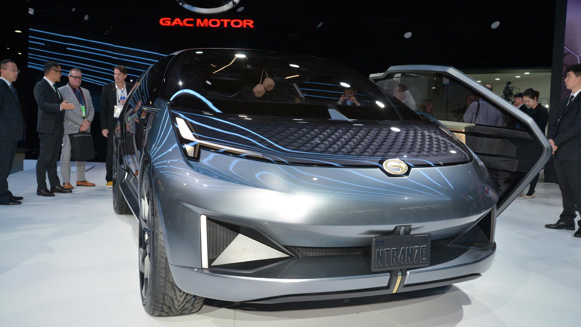 2020 Detroit Auto Show.Gac Returns To Detroit Auto Show With Entranze Concept