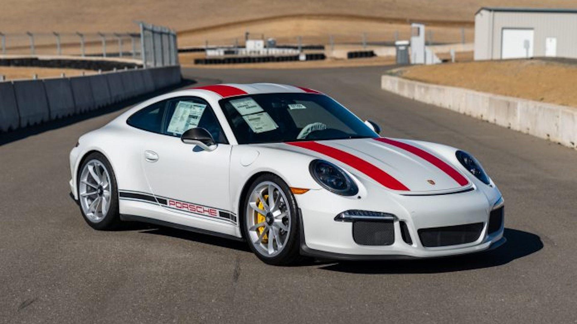 2016 Porsche 911 R, via Gooding & Company
