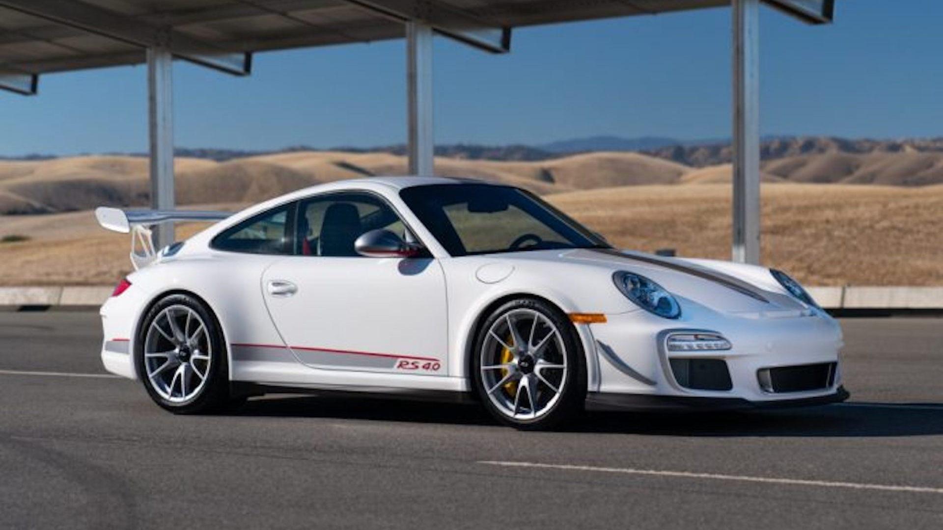 2011 Porsche 911 GT3 RS 4.0, via Gooding & Company