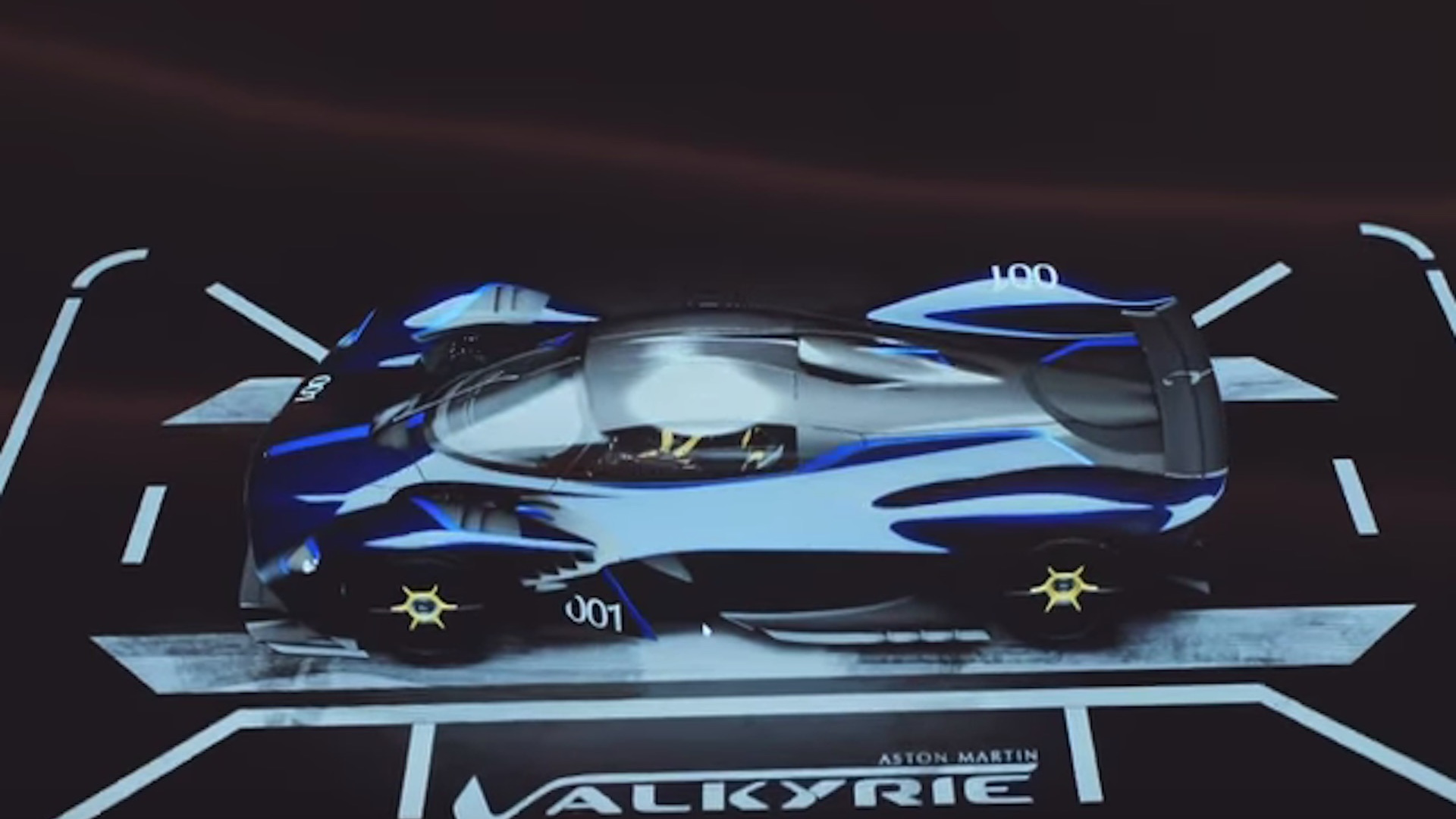 Specifying an Aston Martin Valkyrie supercar
