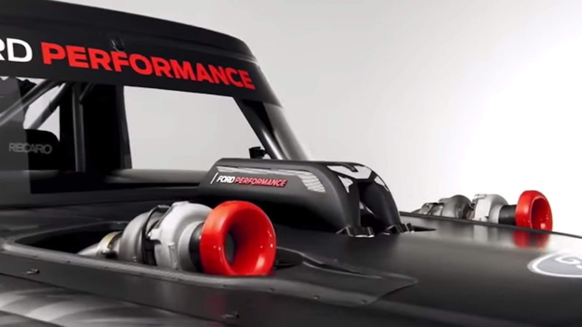 Ford Performance 3D-printed intake manifold for Ken Block's 1977 Hoonitruck F-150