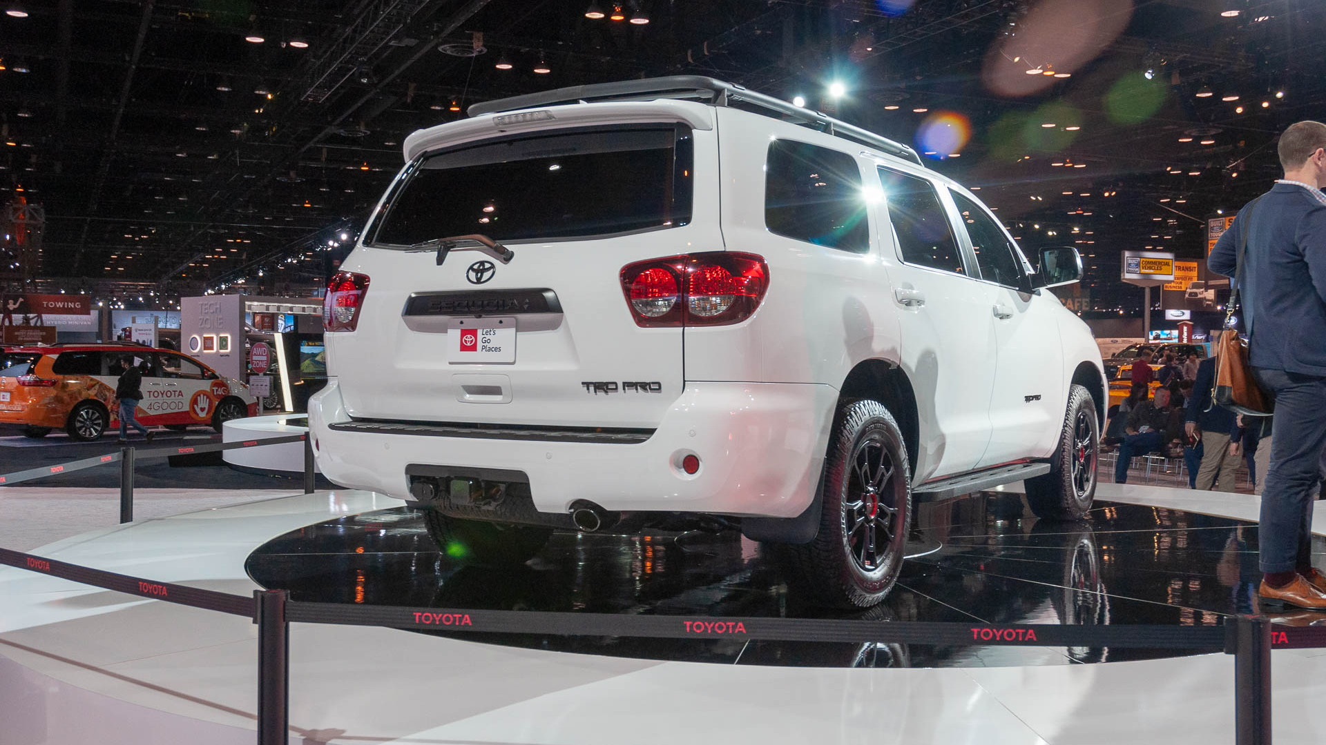 2020 Toyota Sequoia, 2019 Chicago Auto Show