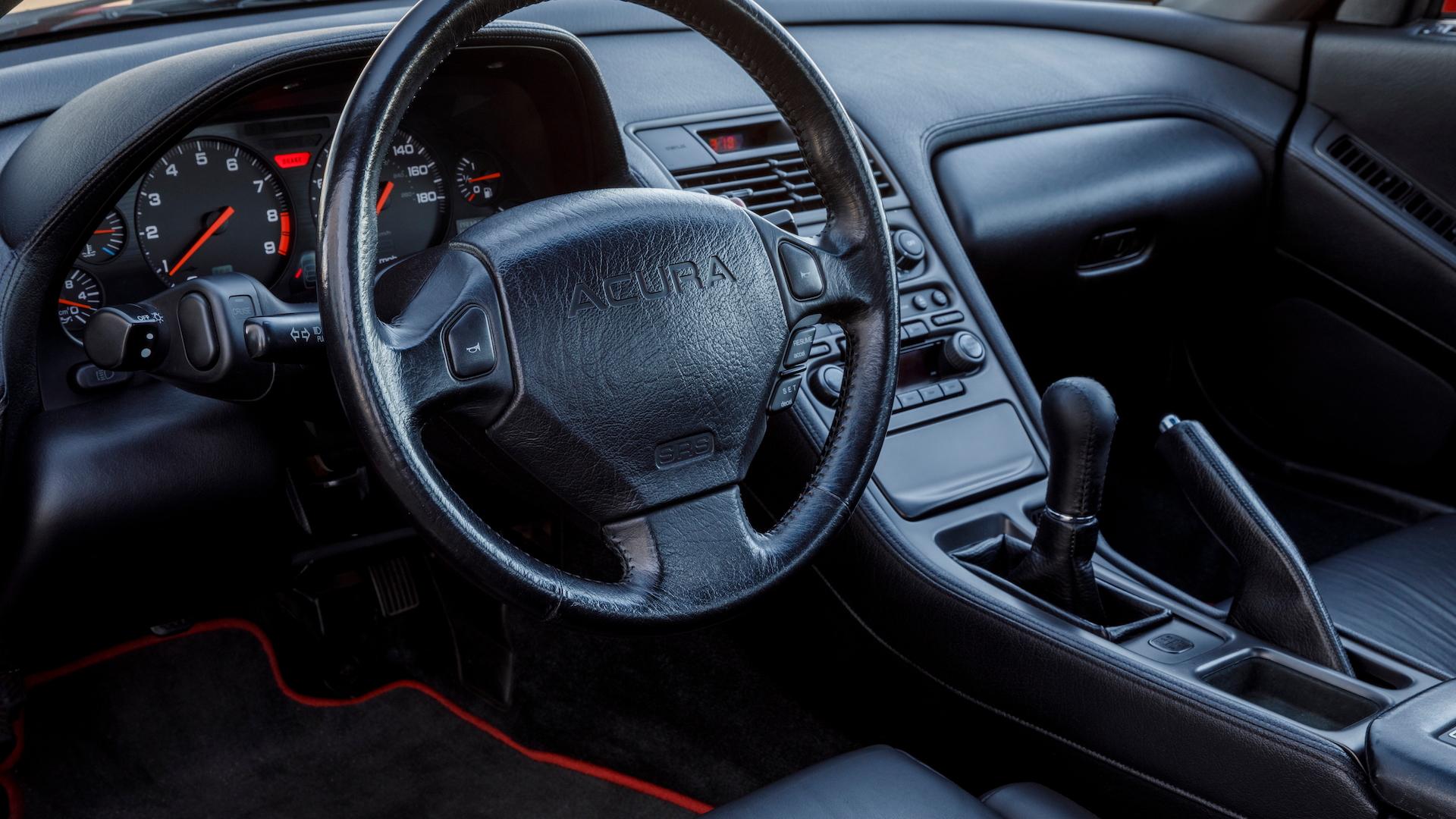1991 Acura NSX interior