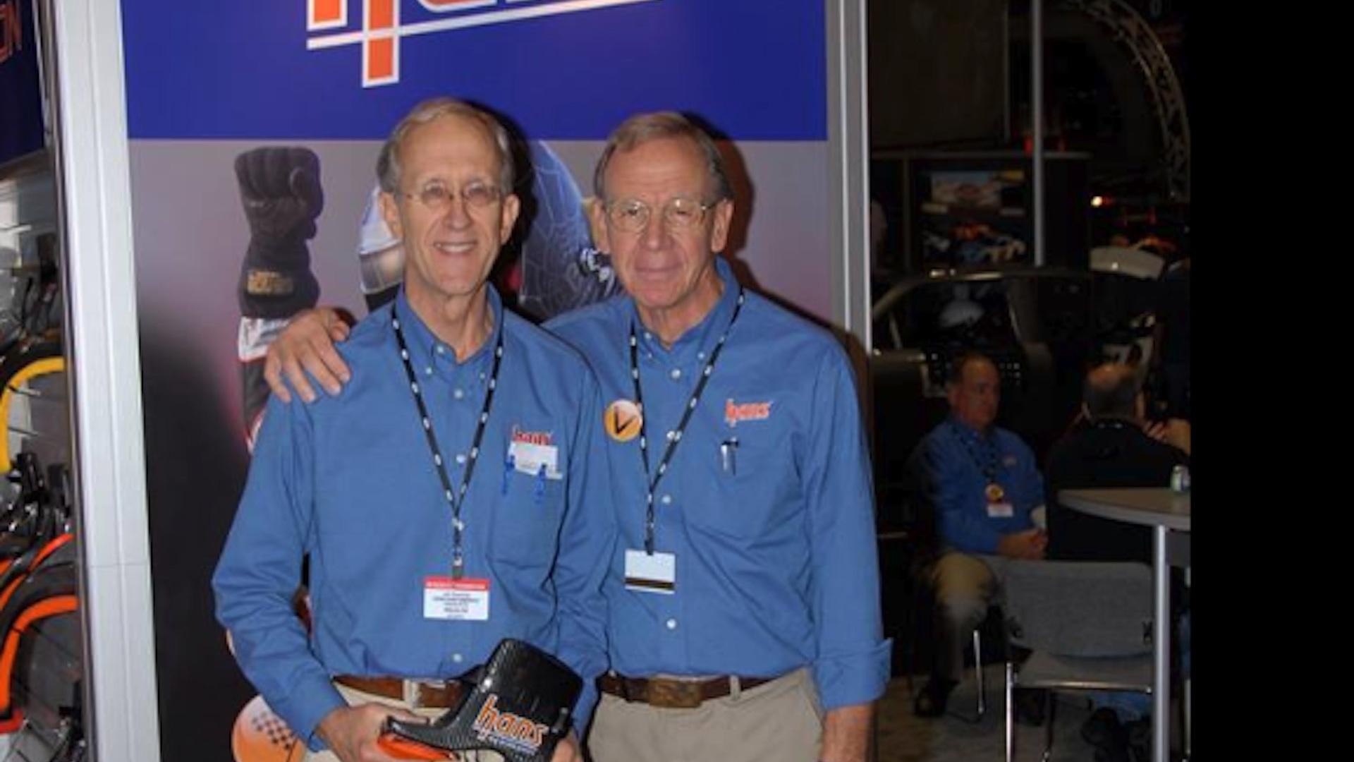 Dr. Robert Hubbard (right), HANS co-creator dead at 75