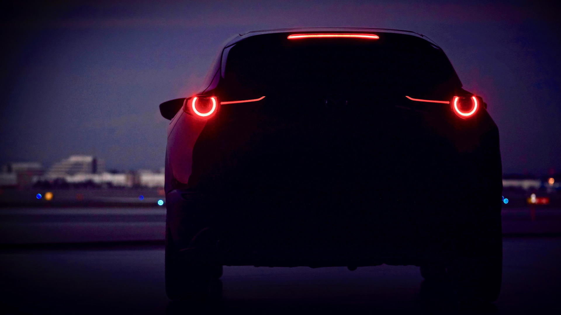 Teaser for new Mazda SUV debuting at 2019 Geneva auto show