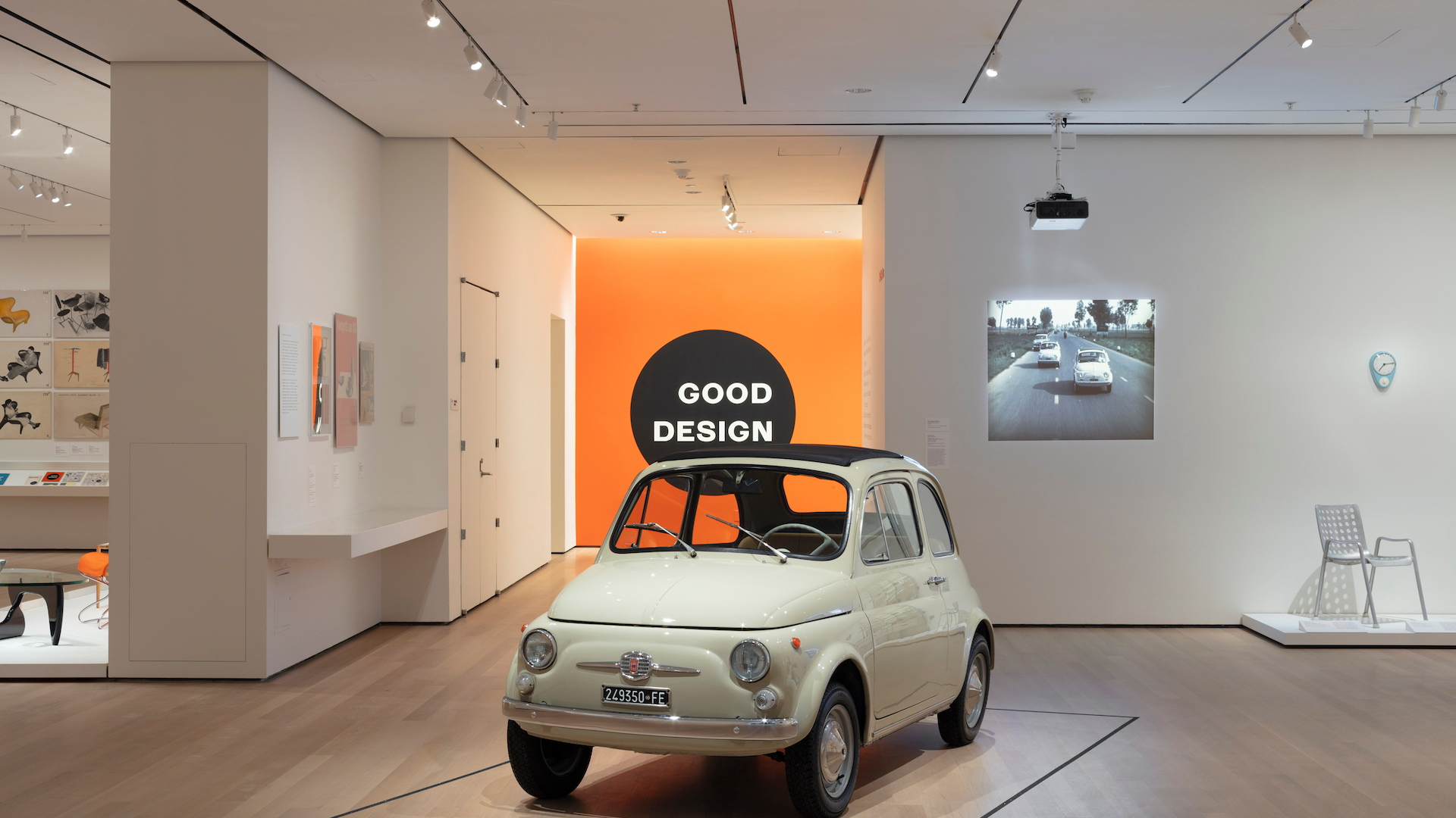 Vintage Fiat 500 Inducted Into Museum Of Modern Art In New York