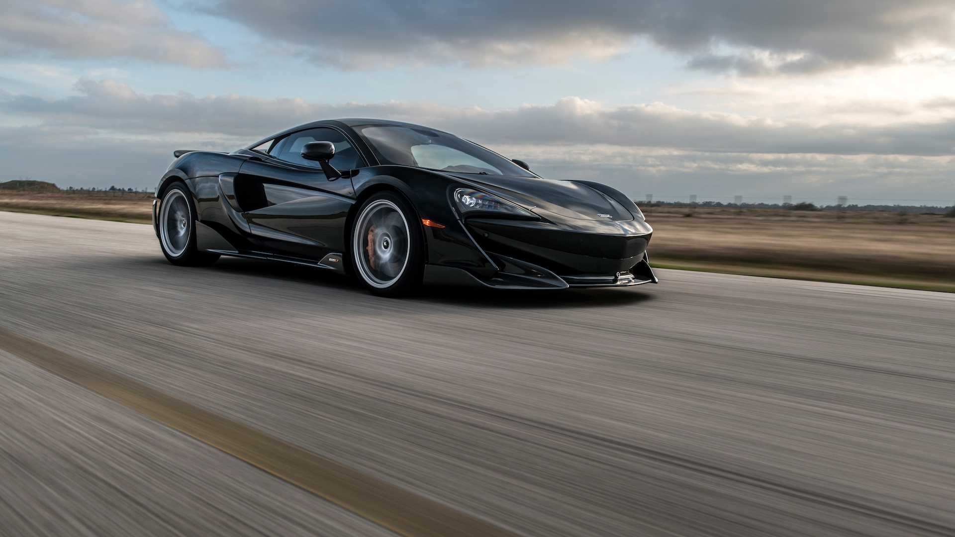 McLaren 600LT with Hennessey Performance Engineering upgrades