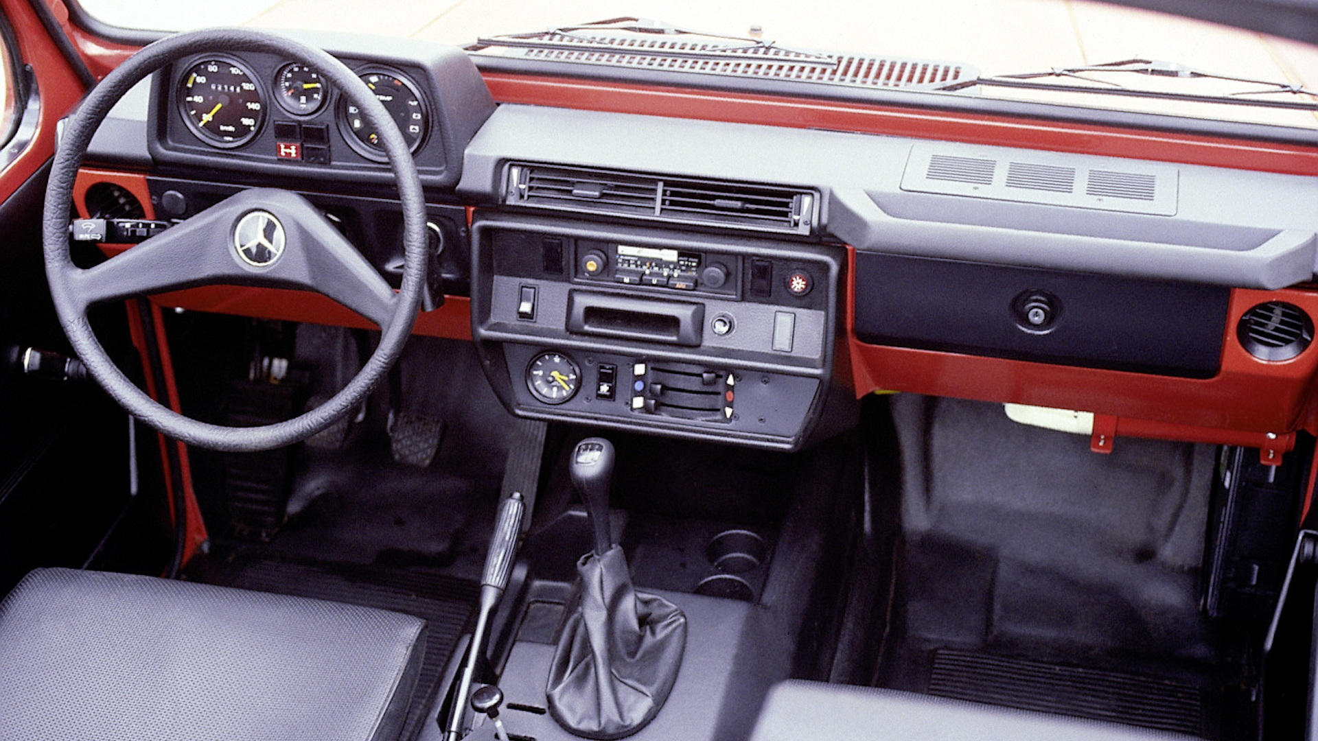1979 Mercedes Benz G Cl Interior