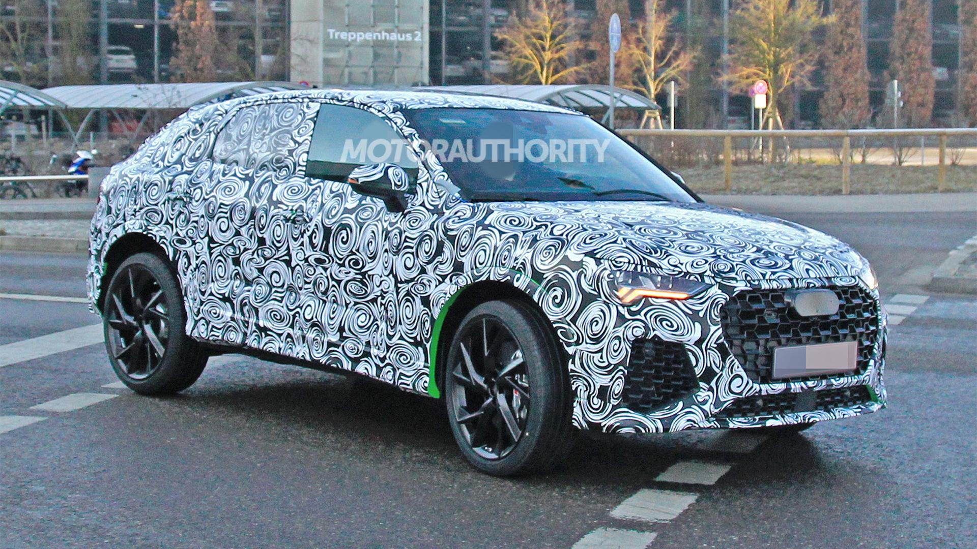 2021 Audi RS Q3 Sportback spy shots - Image via S. Baldauf/SB-Medien