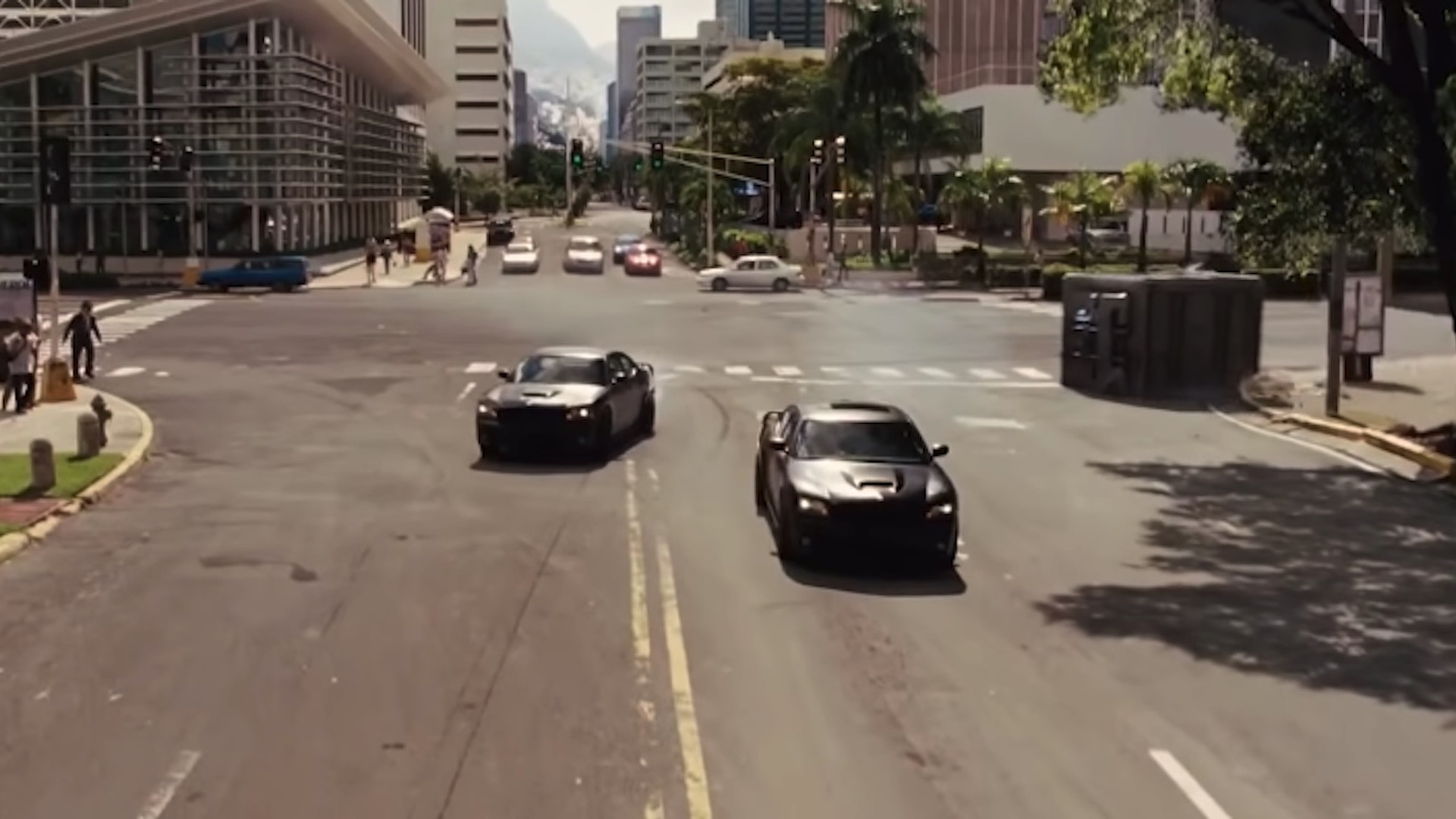 'Fast Five' vault chase scene