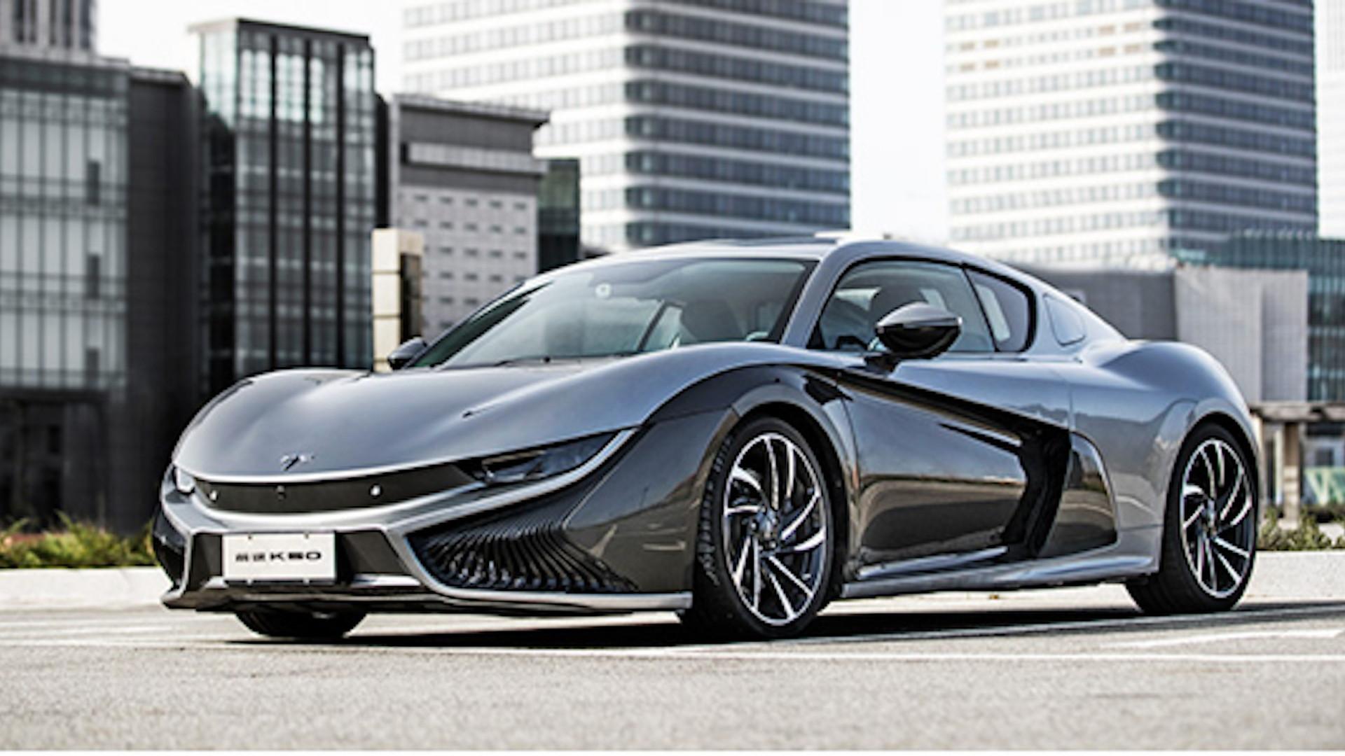 Qiantu K50 electric sports car