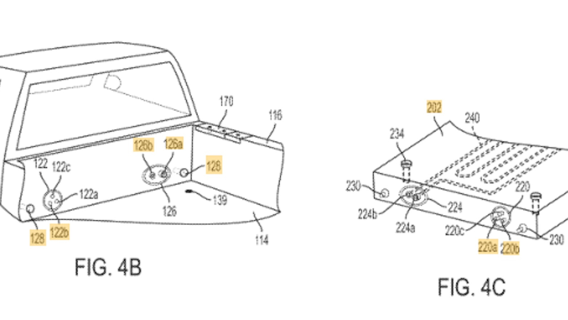 Rivian auxiliary battery pack technology patent