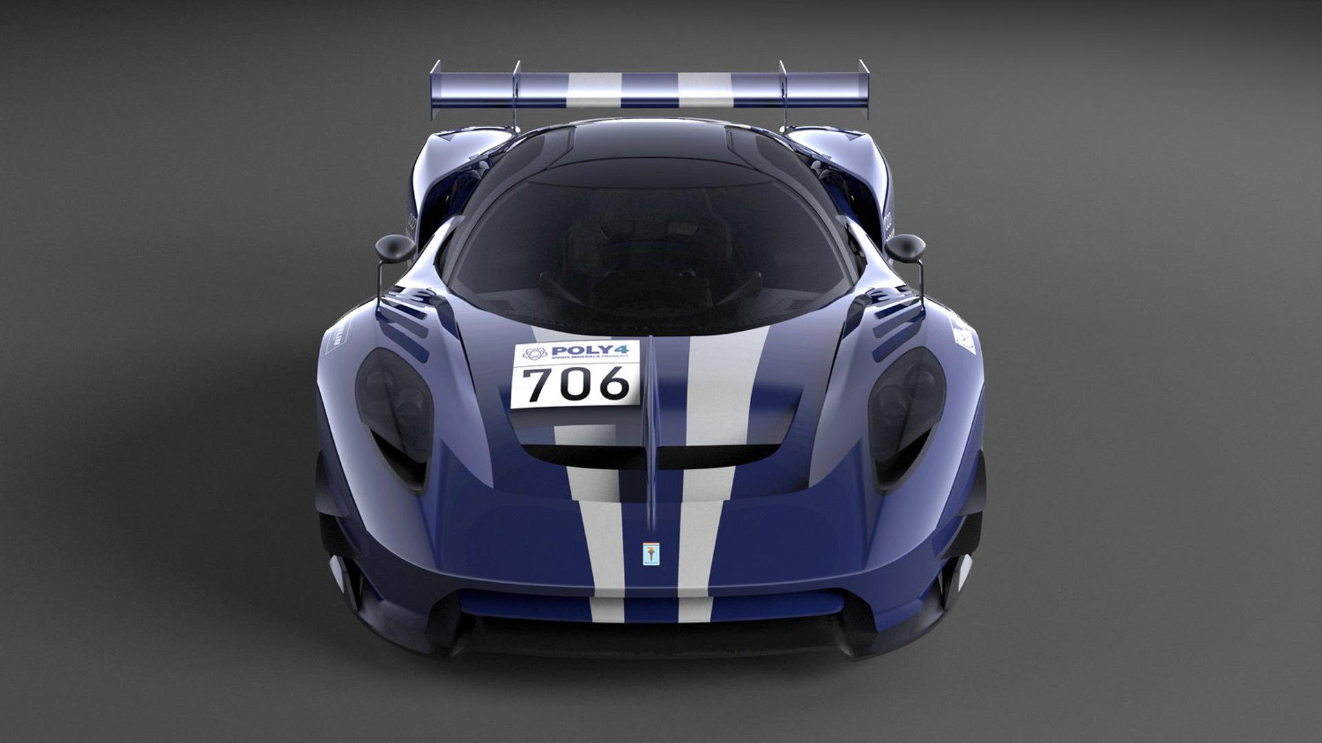 Scuderia Cameron Glickenhaus 004C race car