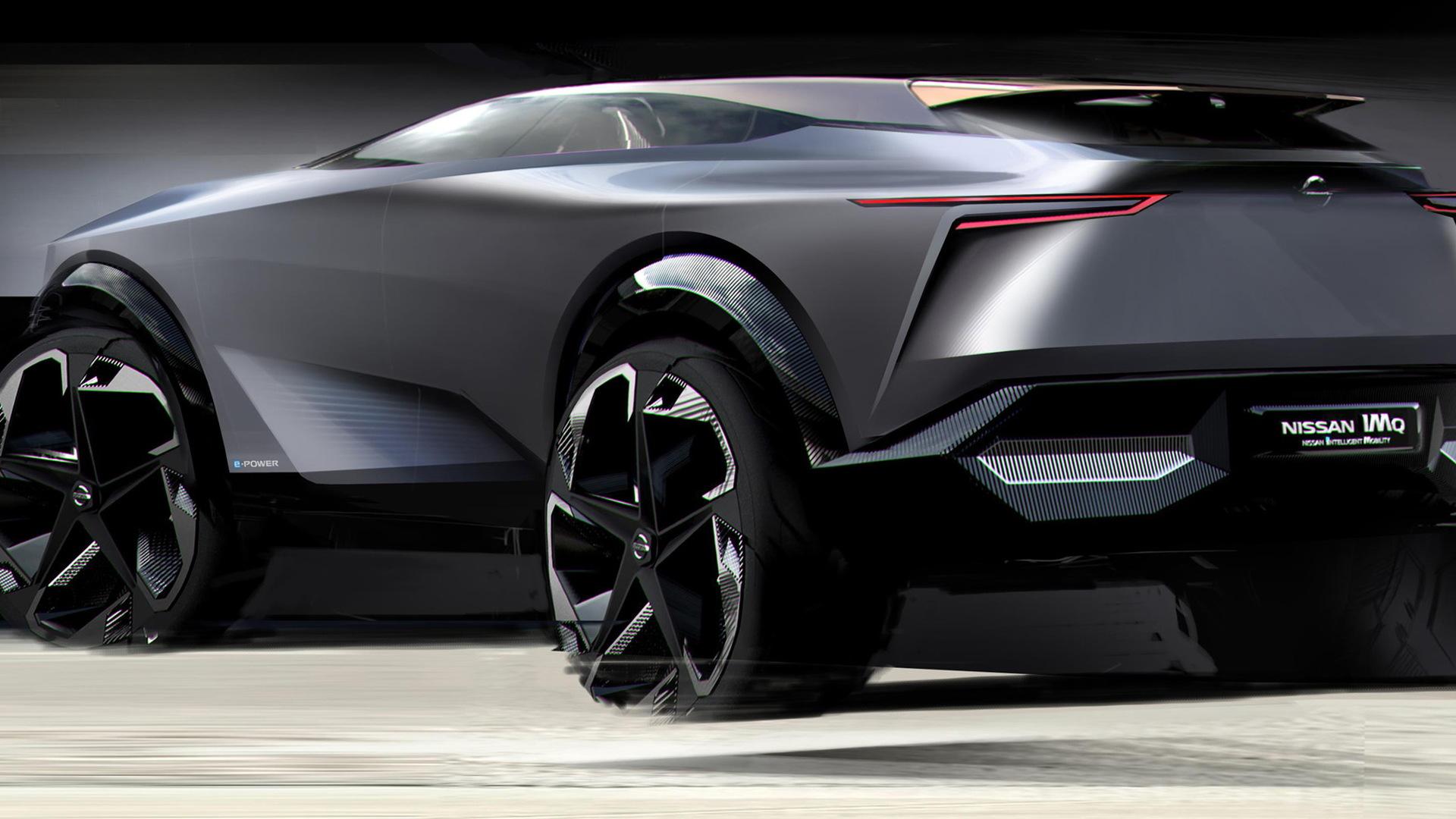 Nissan Imq Electric Suv Concept Bound For Geneva Auto Show