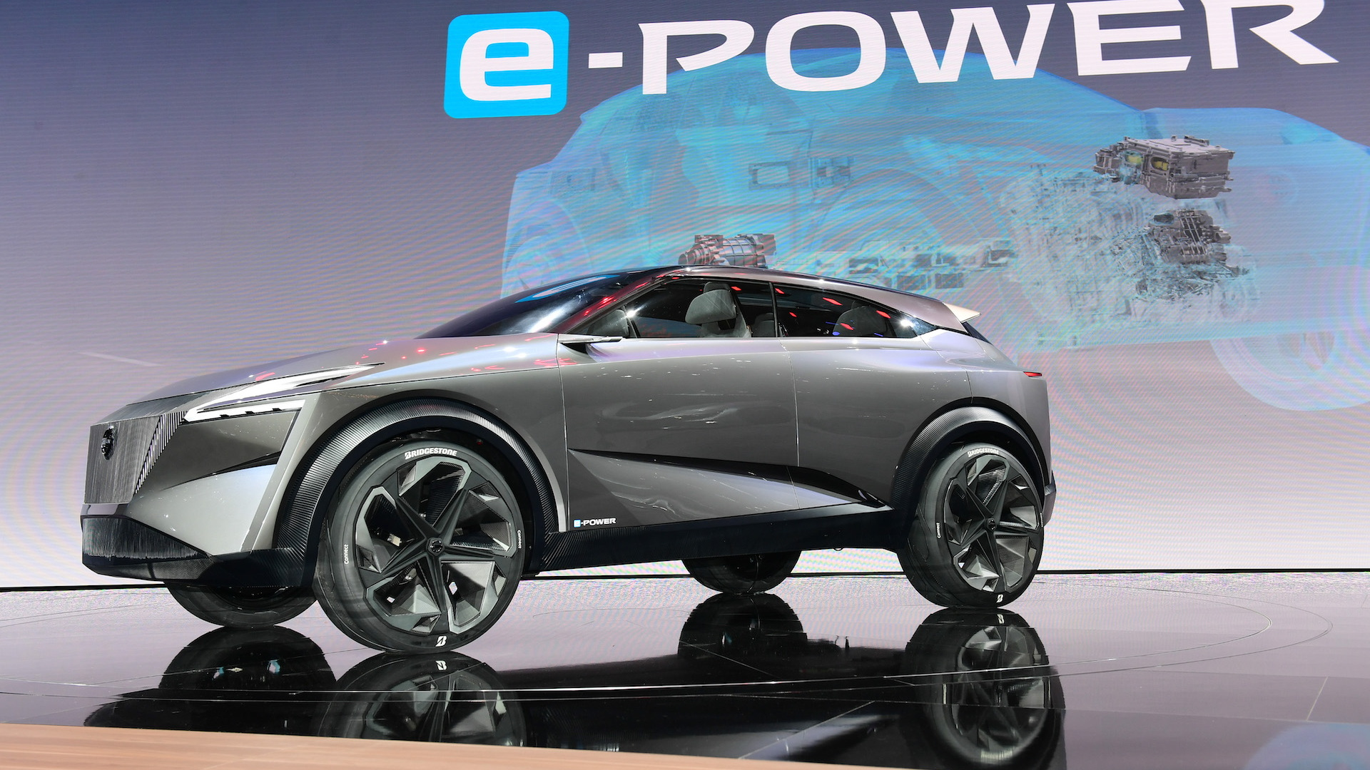 Nissan IMQ electric SUV concept