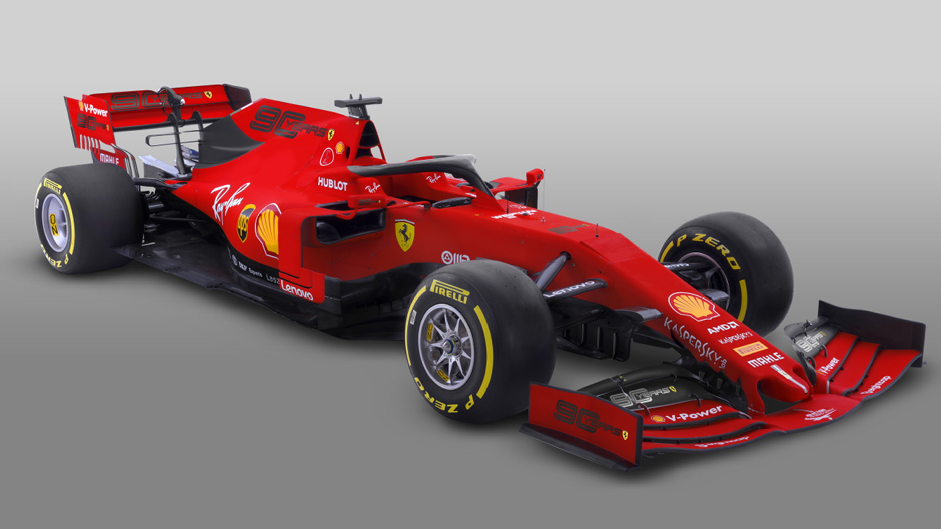 Ferrari's F1 car to don 90th anniversary livery for 2019