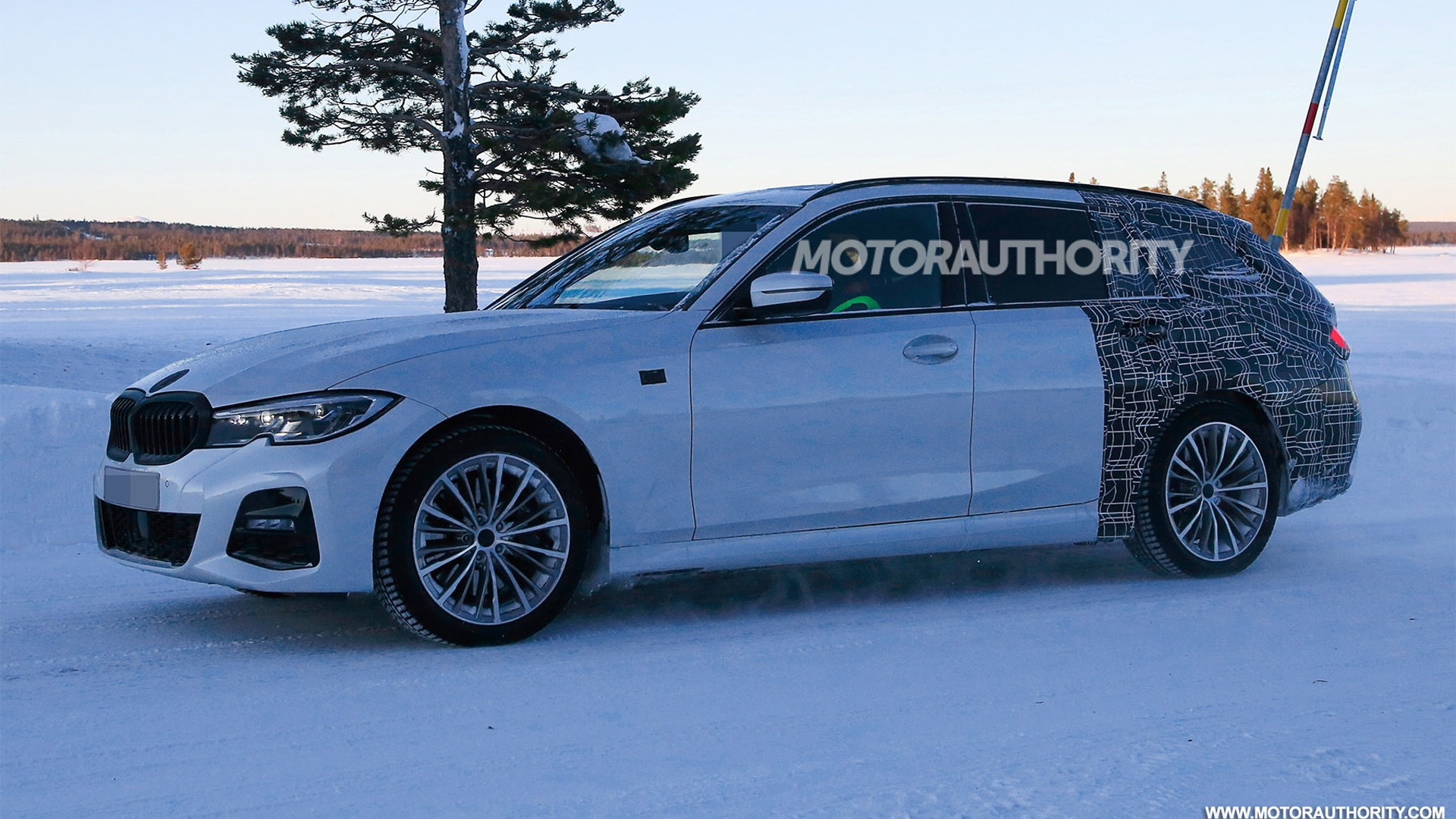2020 Bmw 3 Series Sports Wagon Spy Shots And Video